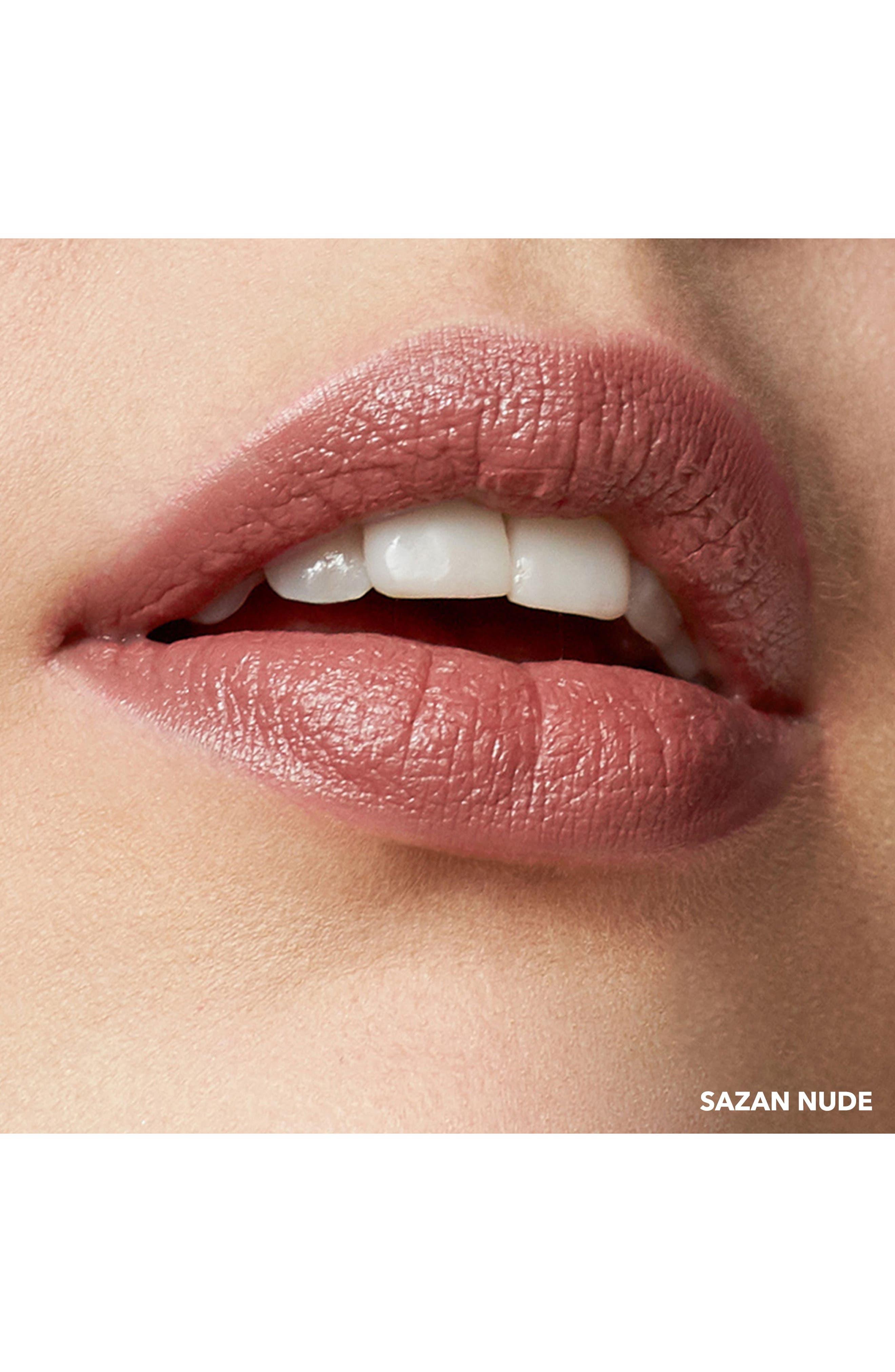 Crushed Lip Color,                             Alternate thumbnail 2, color,                             Sazan
