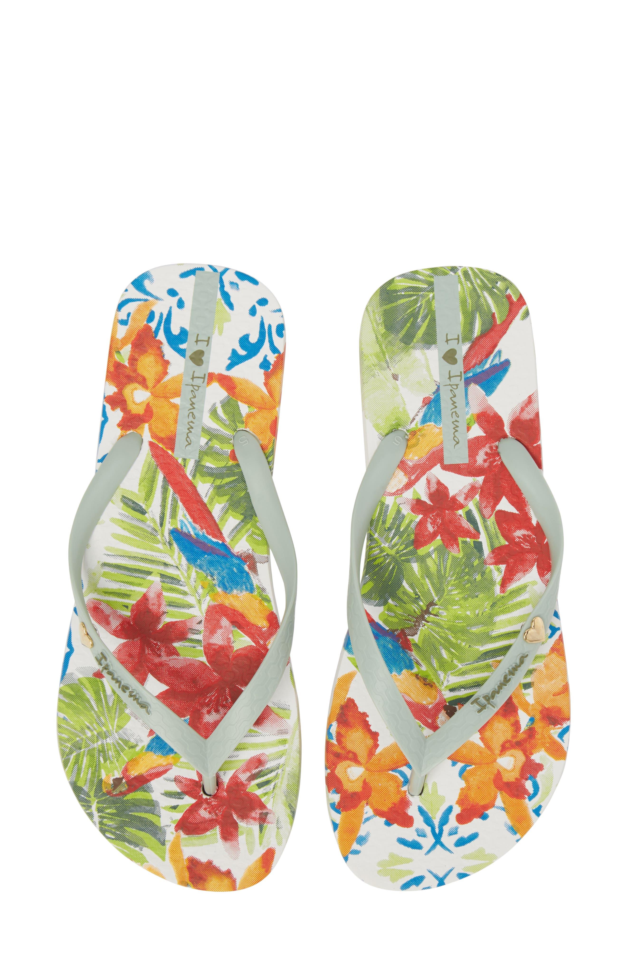 Ipanema Print Flip Flop (Women)