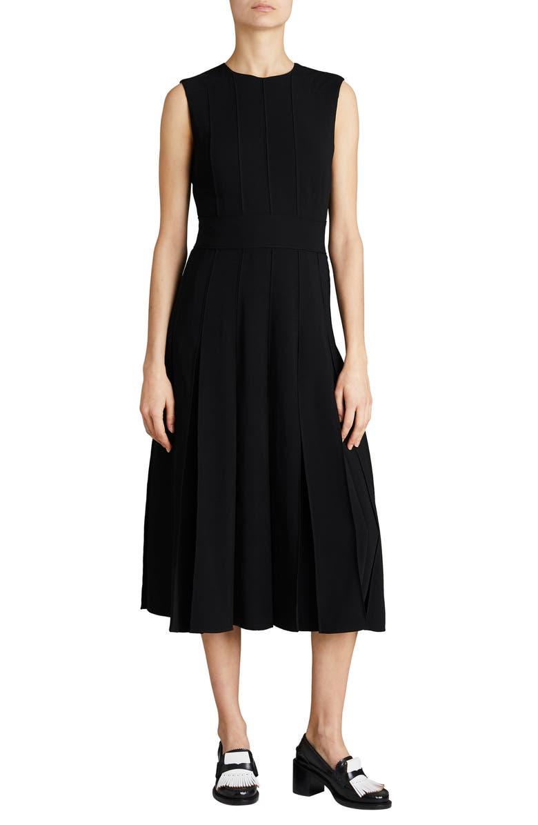 Aria Pleated Midi Dress