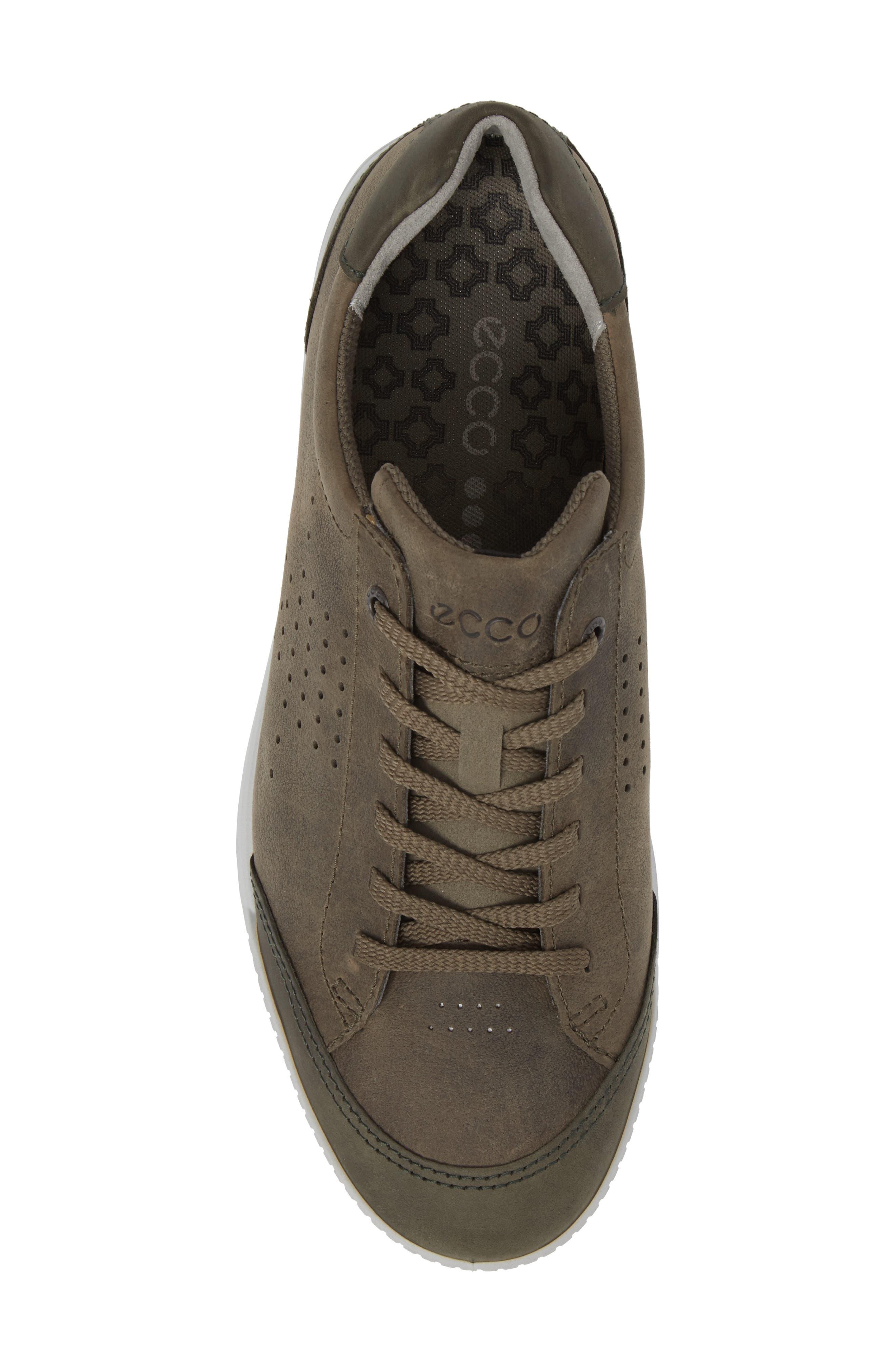 Street Retro HM Golf Shoe,                             Alternate thumbnail 5, color,                             Tarmac/ Deep Fore Leather