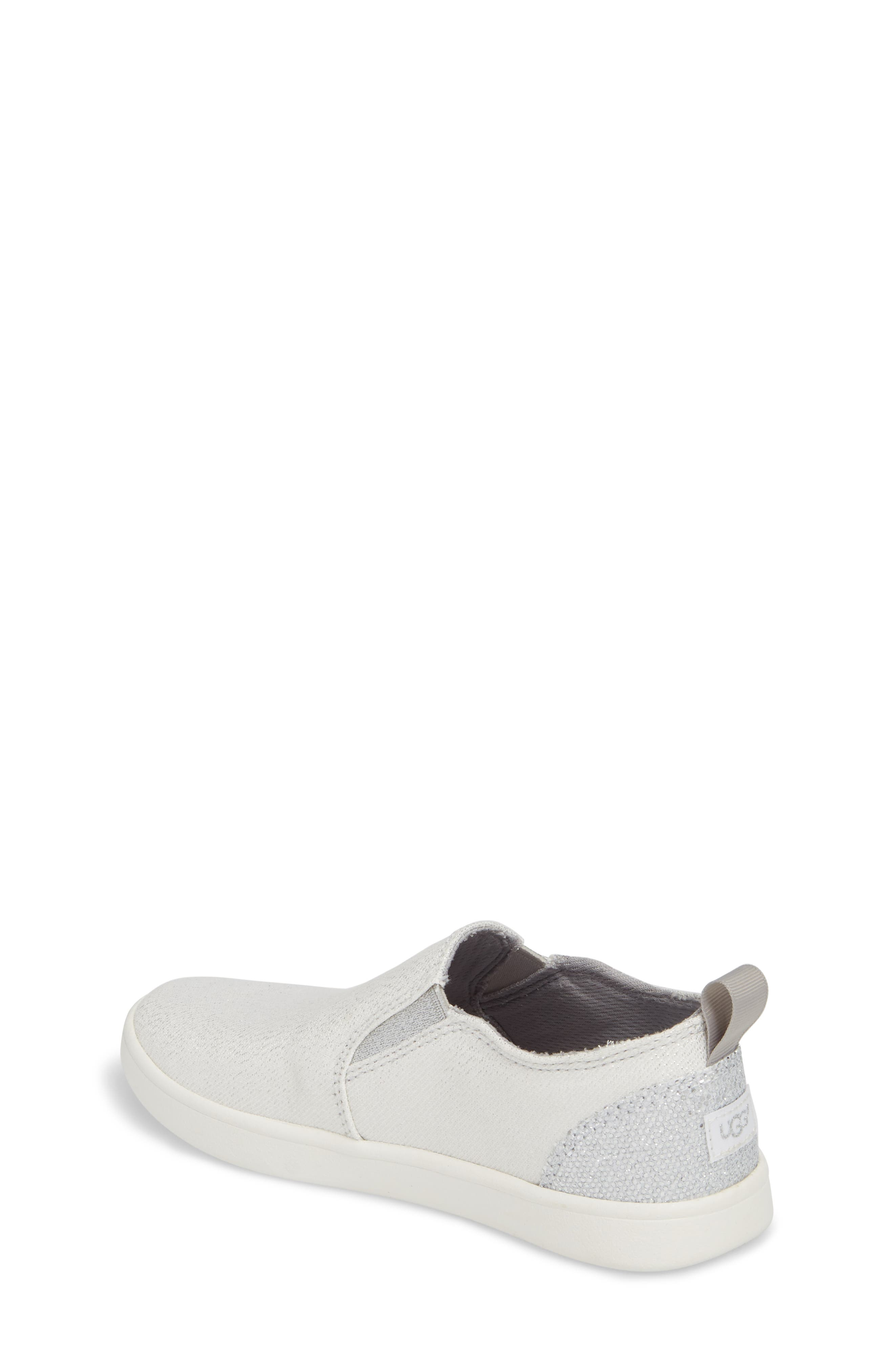 Gantry Sparkles Slip-On Sneaker,                             Alternate thumbnail 2, color,                             Silver