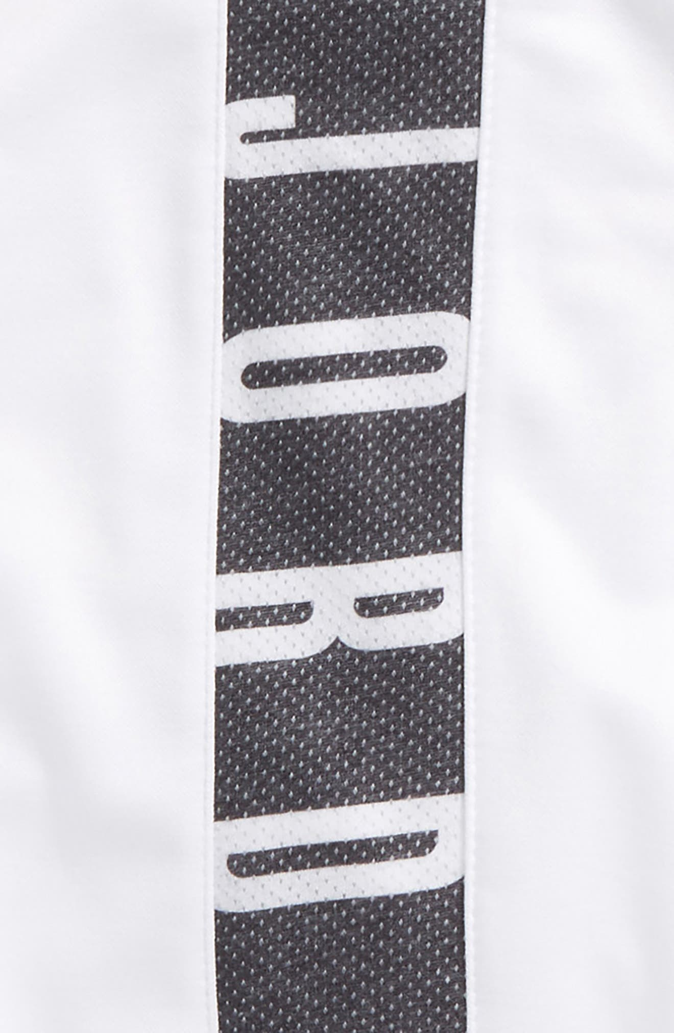 Jordan Dry 23 Alpha FZ Therma-FIT Zip Hoodie,                             Alternate thumbnail 3, color,                             White