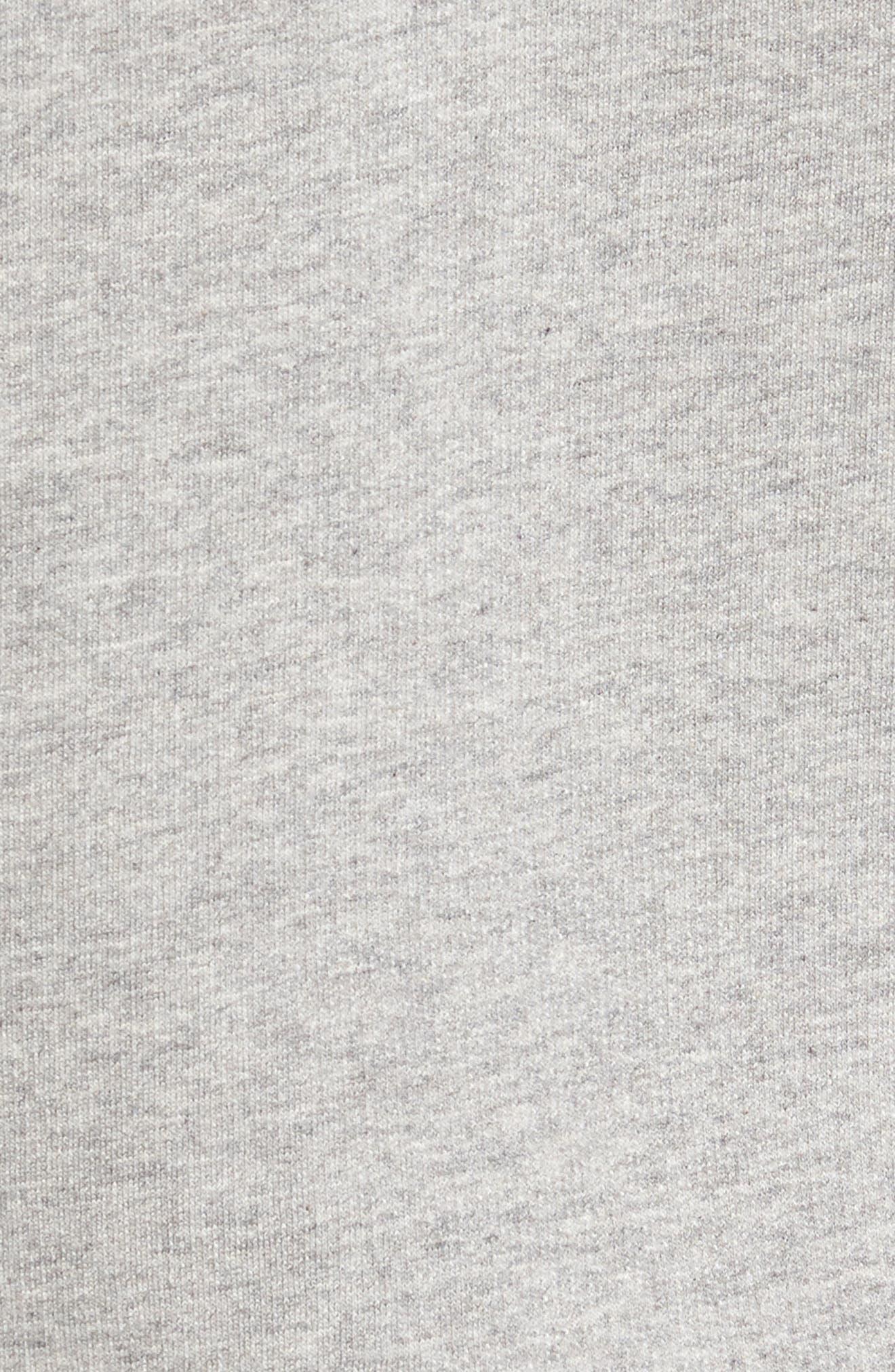 M's P-6 Logo Full Zip Hoodie,                             Alternate thumbnail 5, color,                             Feather Grey