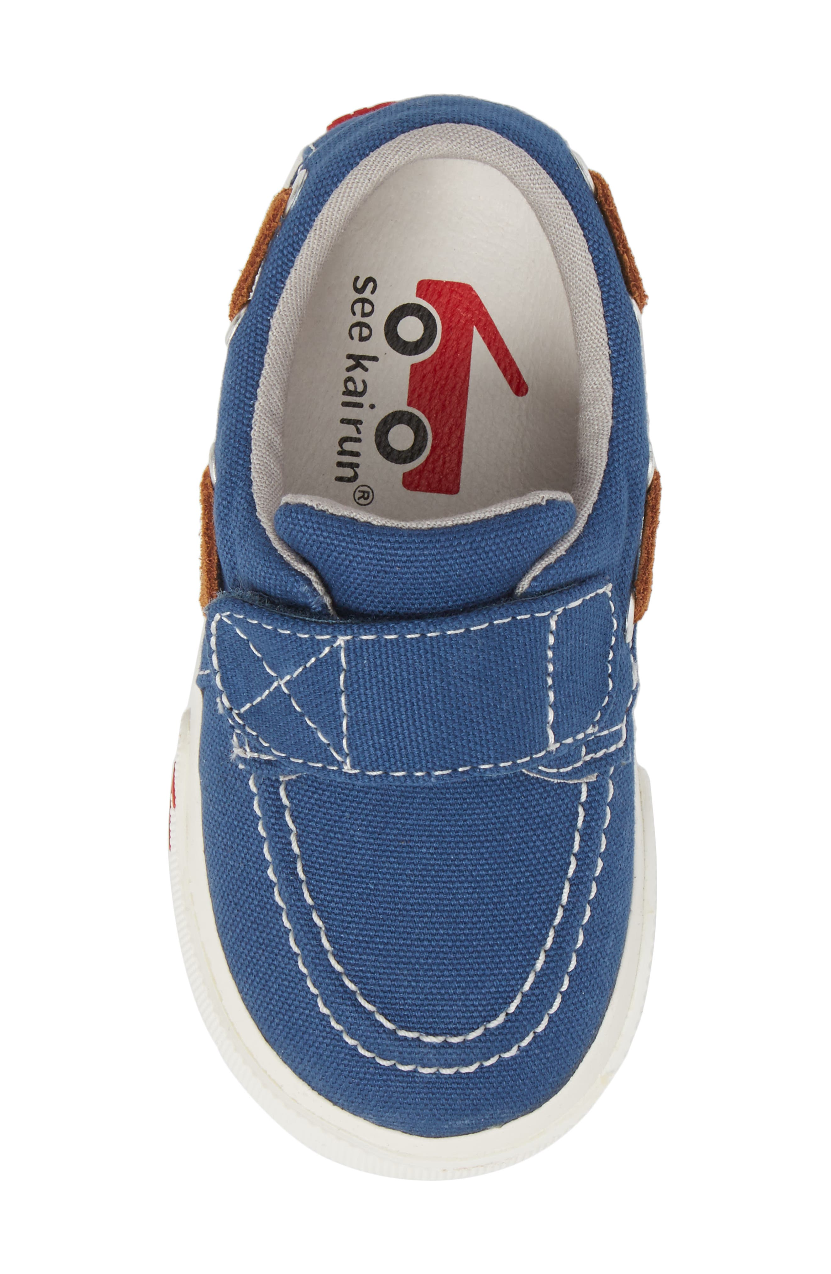 Elias Sneaker,                             Alternate thumbnail 5, color,                             Blue