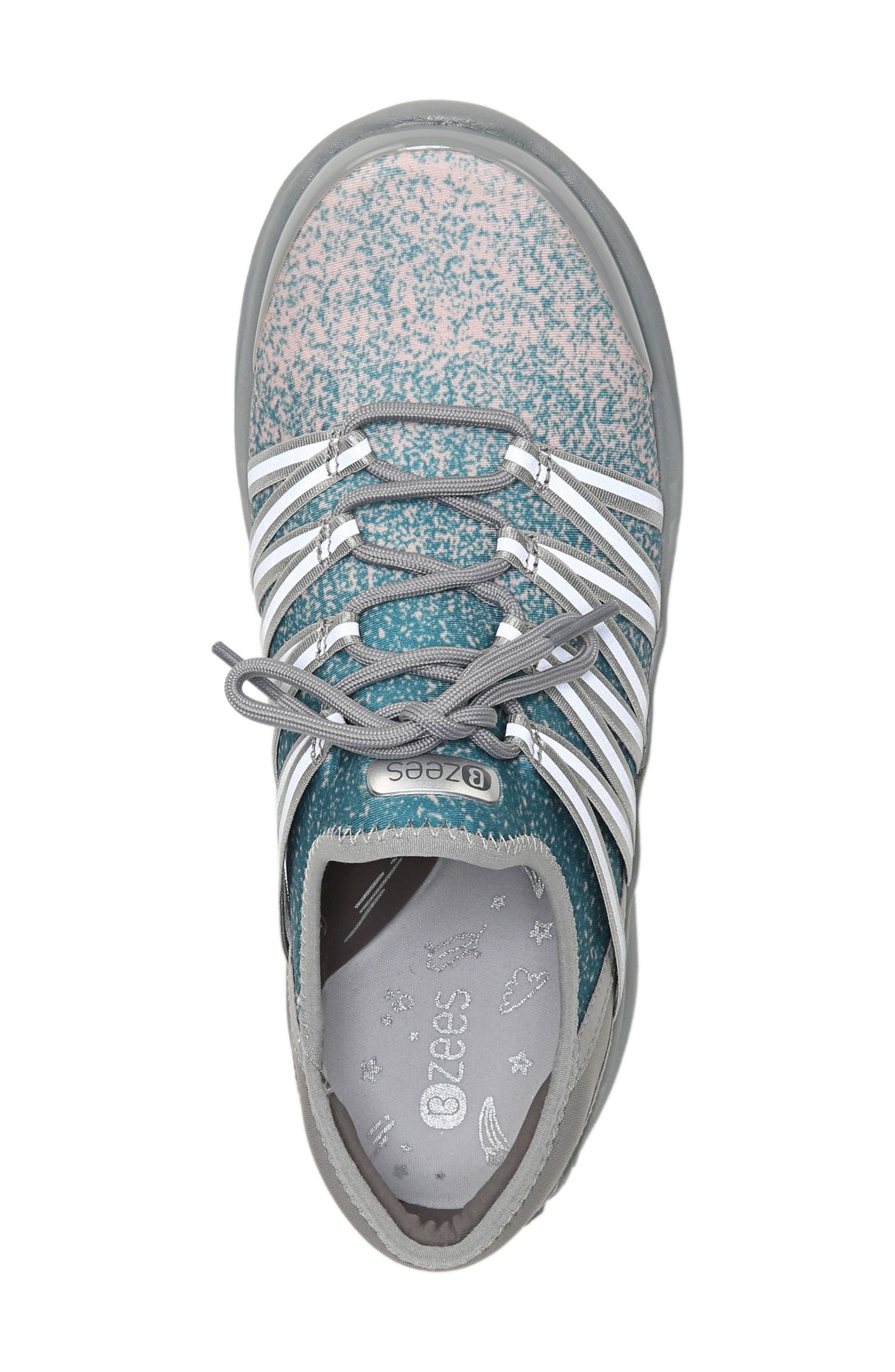 Tender Sneaker,                             Alternate thumbnail 5, color,                             Pink Fabric