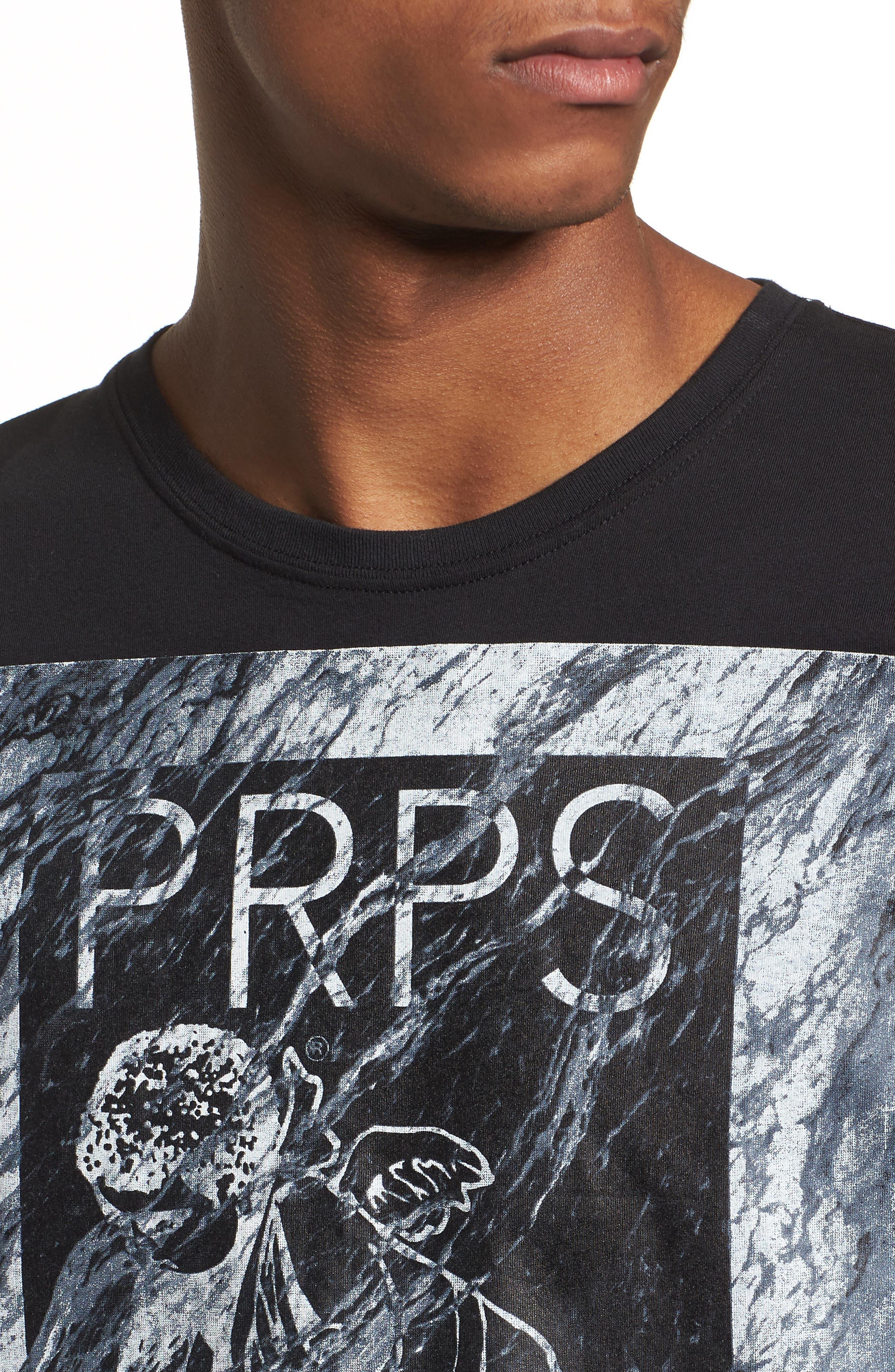 Cherub Graphic T-Shirt,                             Alternate thumbnail 4, color,                             Black