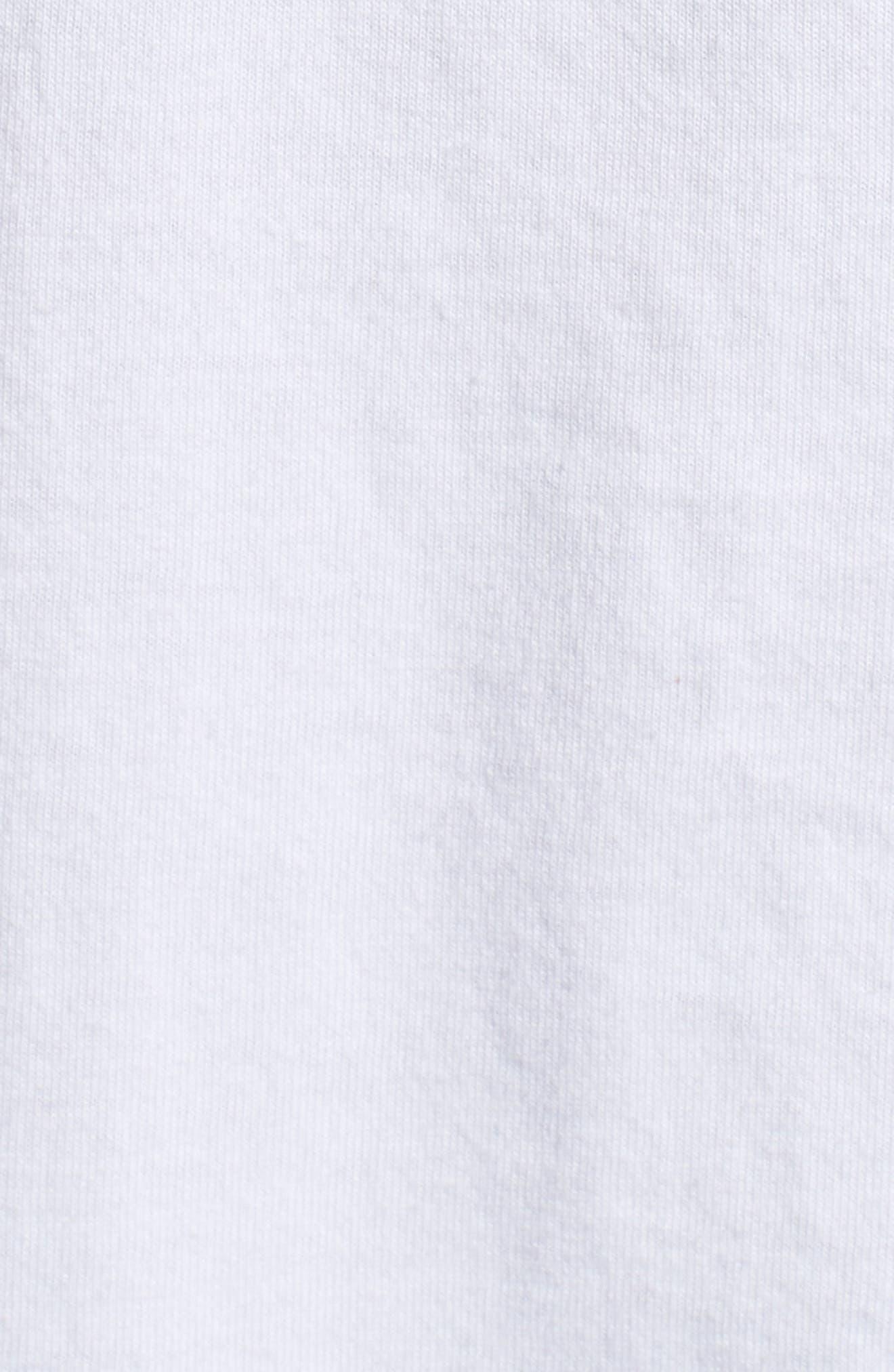 Colorblocked Logo T-Shirt,                             Alternate thumbnail 5, color,                             White