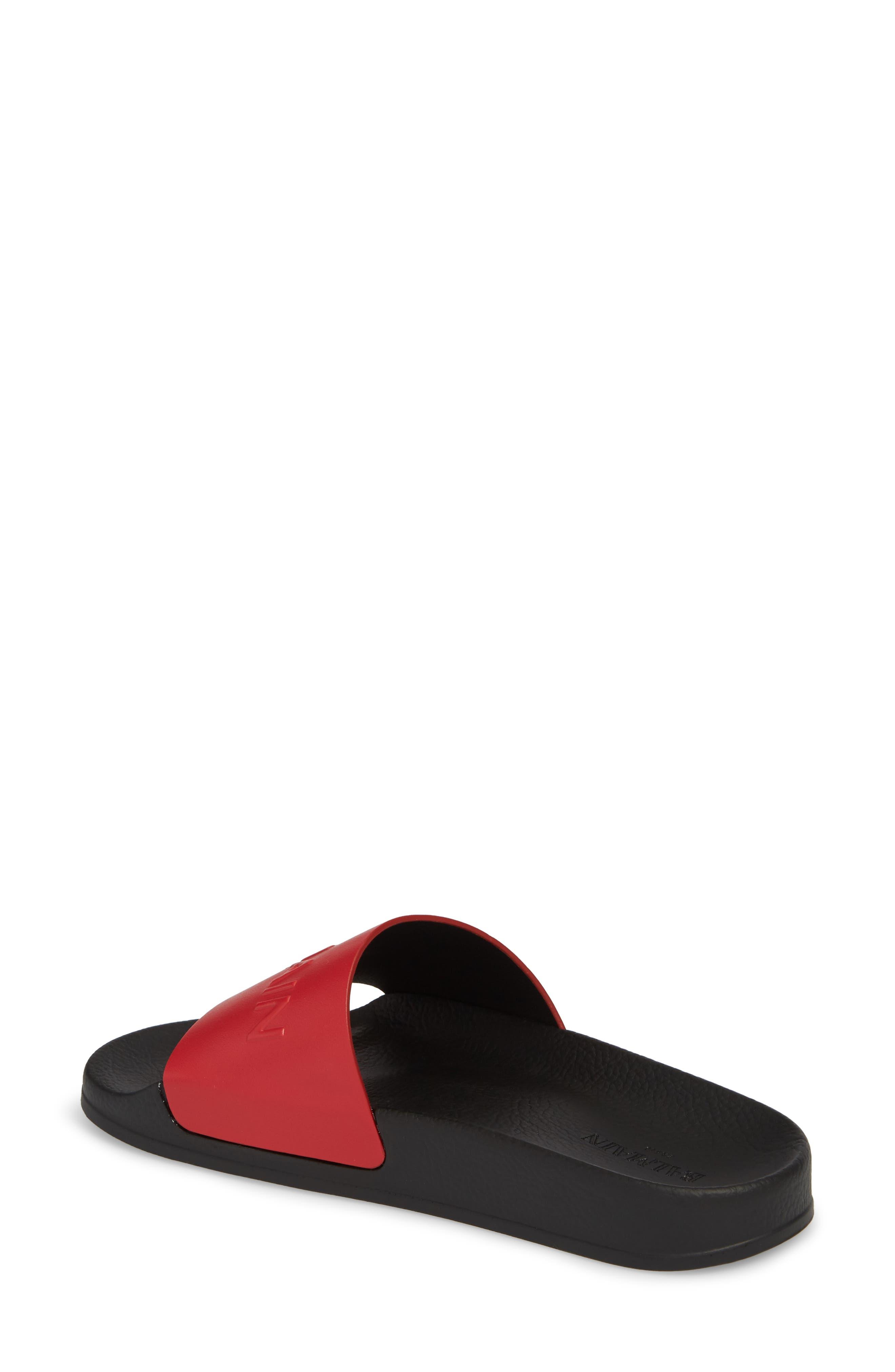 Alternate Image 2  - Balmain Calypso Logo Strap Slide Sandal (Women)