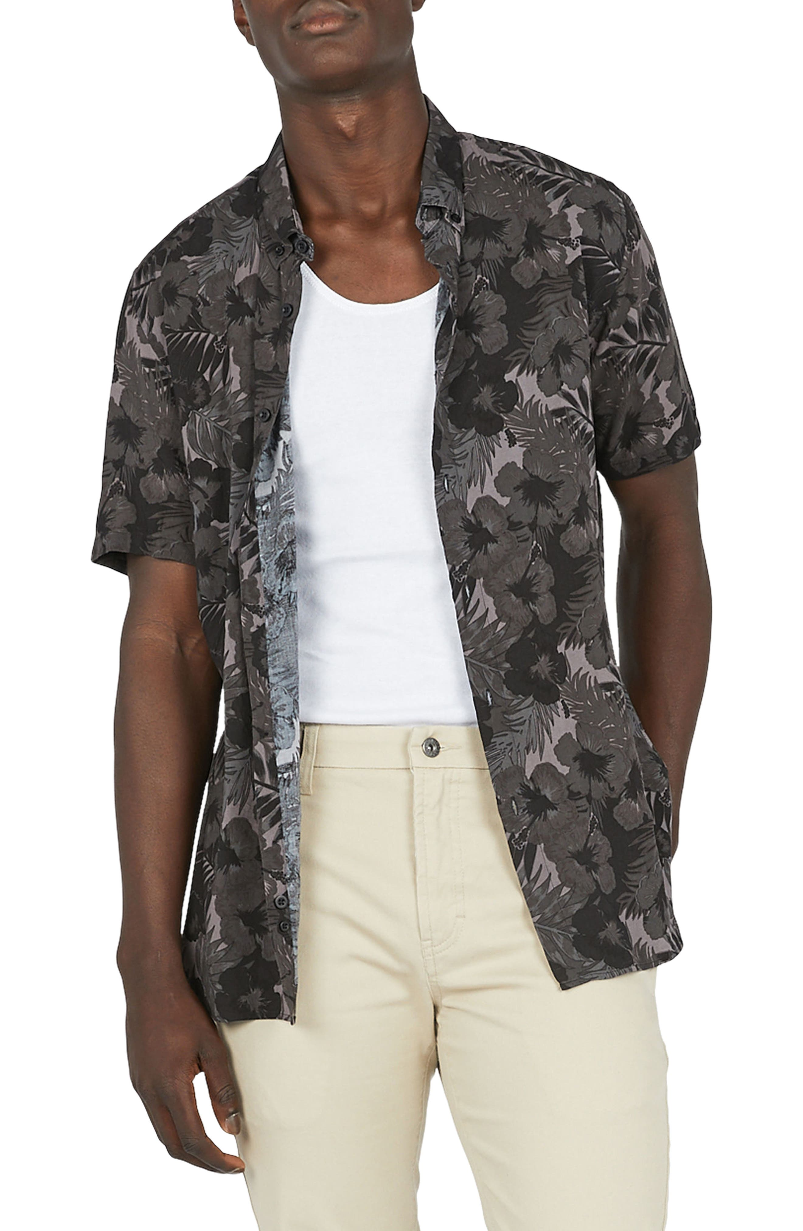 Alternate Image 1 Selected - Barney Cools Holiday Woven Shirt