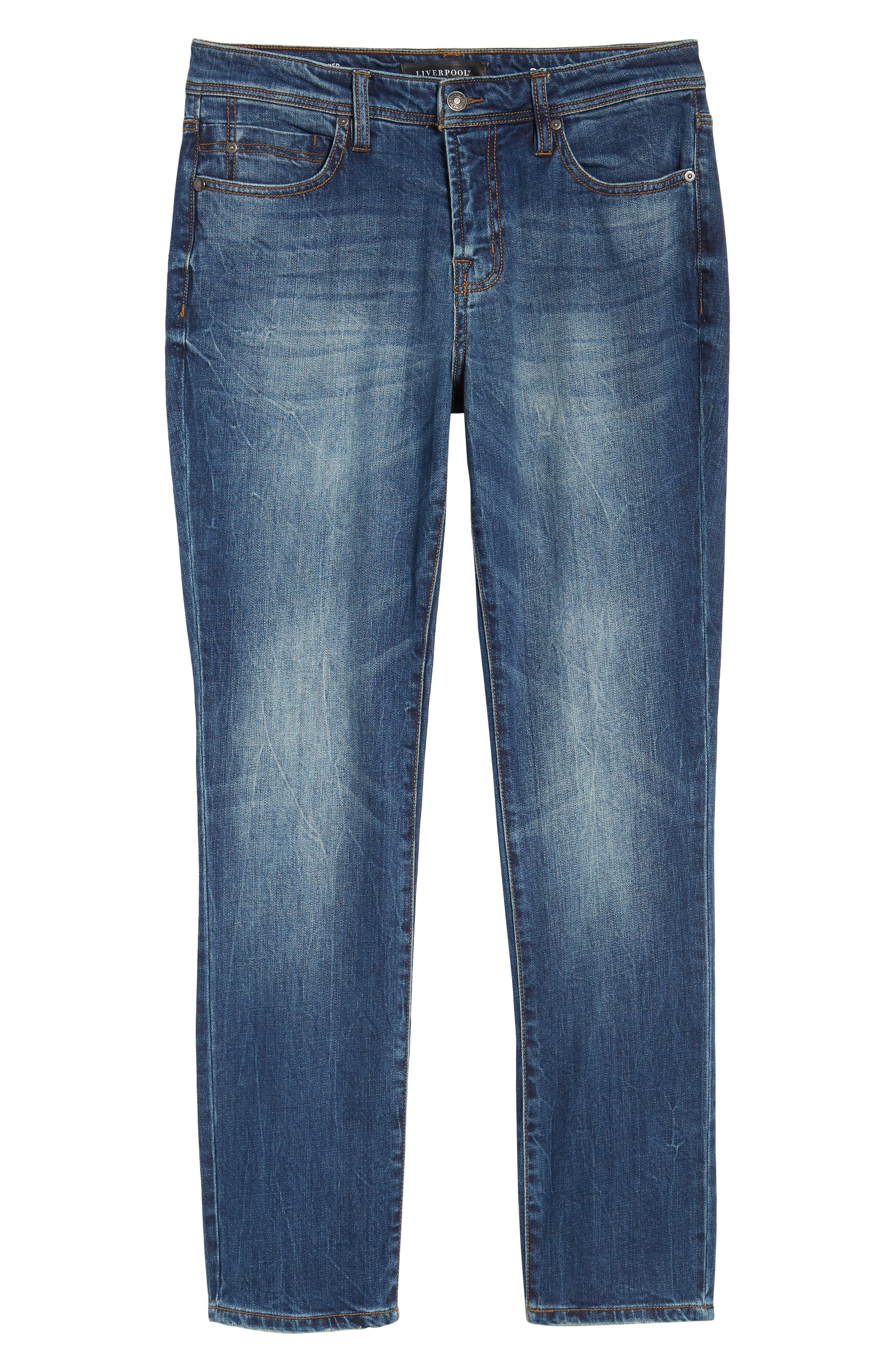 Jeans Co. Kingston Slim Straight Leg Jeans,                             Alternate thumbnail 6, color,                             Odessa Vintage Dark