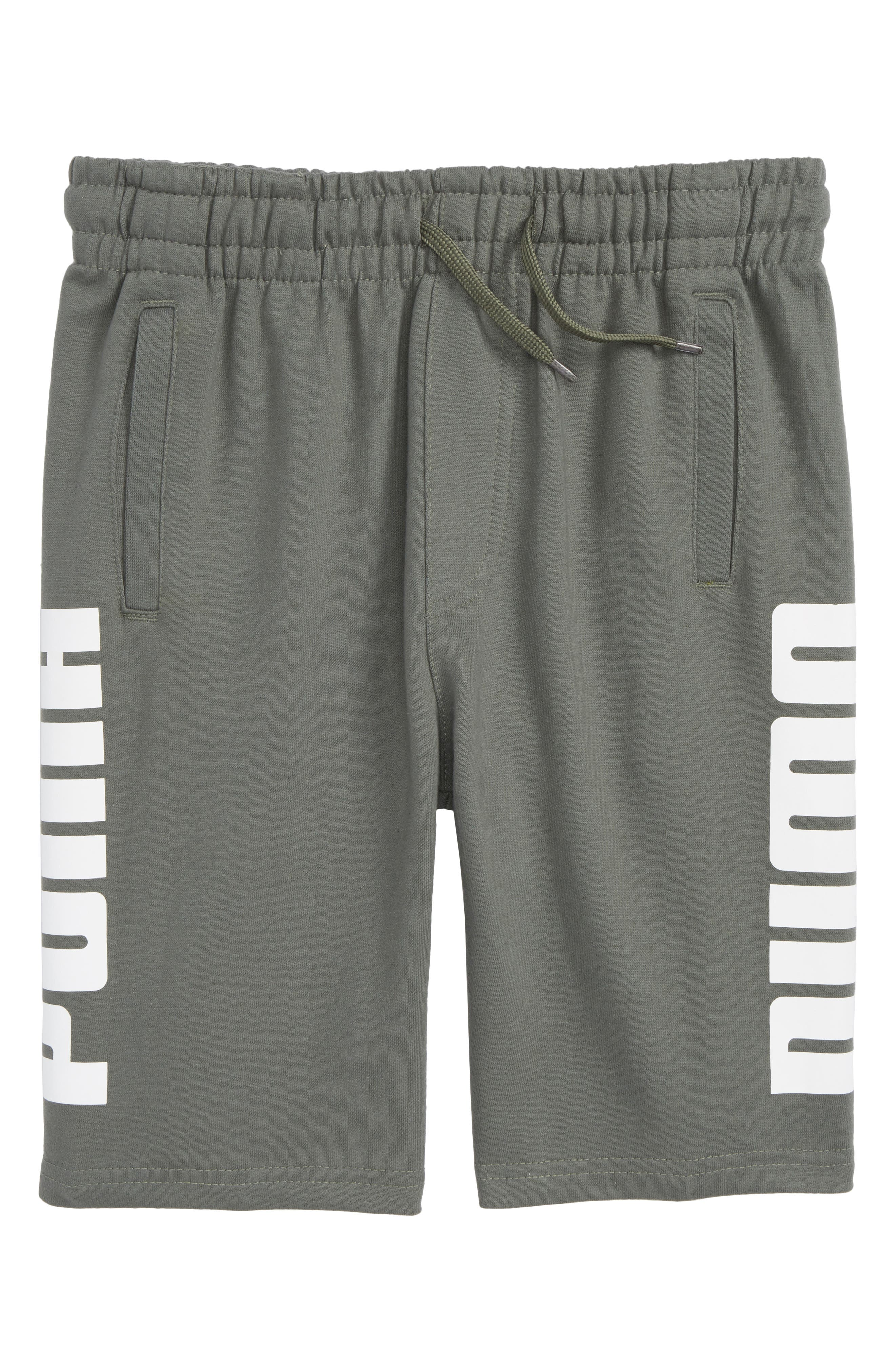 Rebel Knit Shorts,                         Main,                         color, Castor Grey