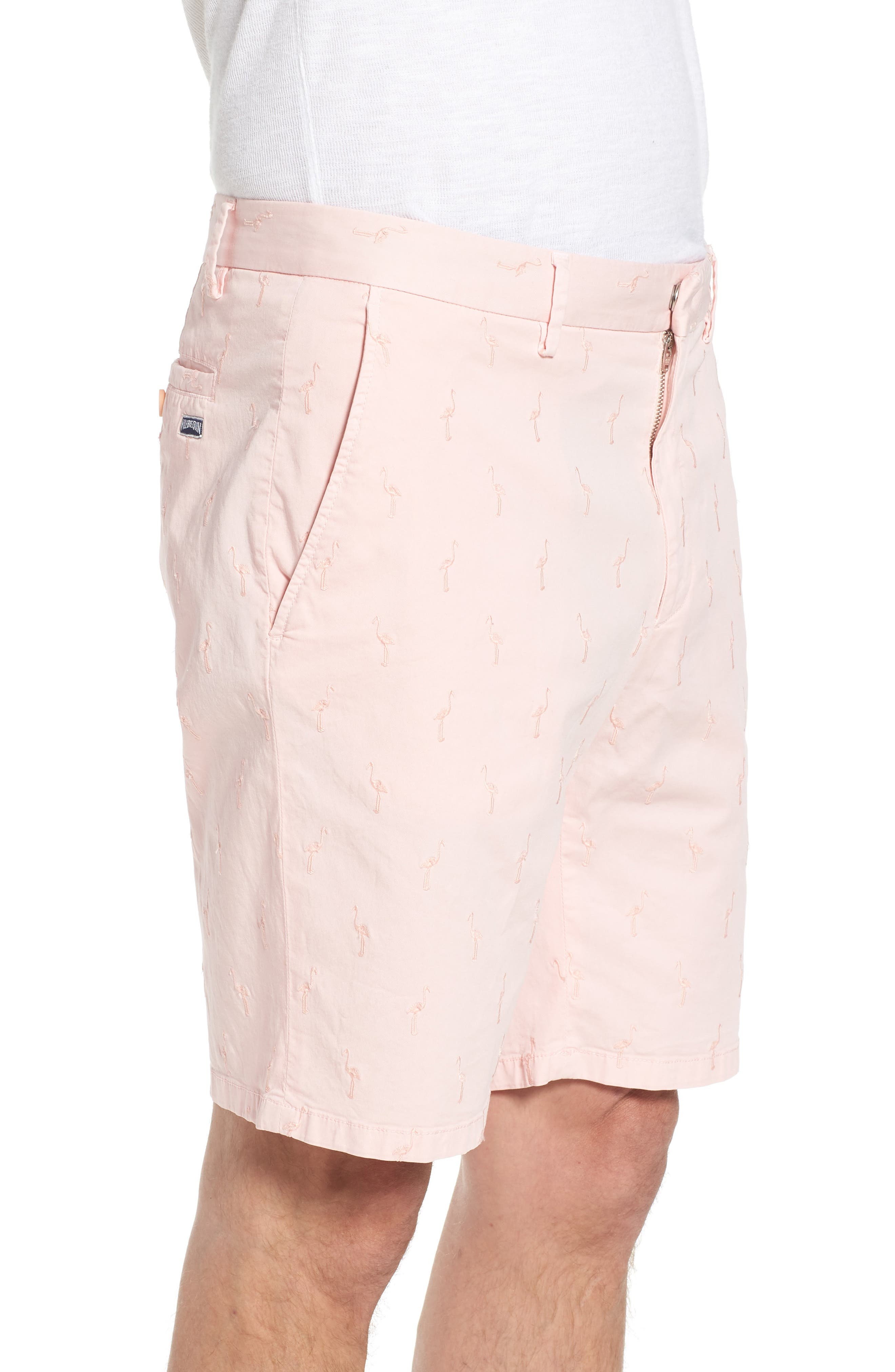 Alternate Image 3  - Vilebrequin Embroidered Twill Shorts