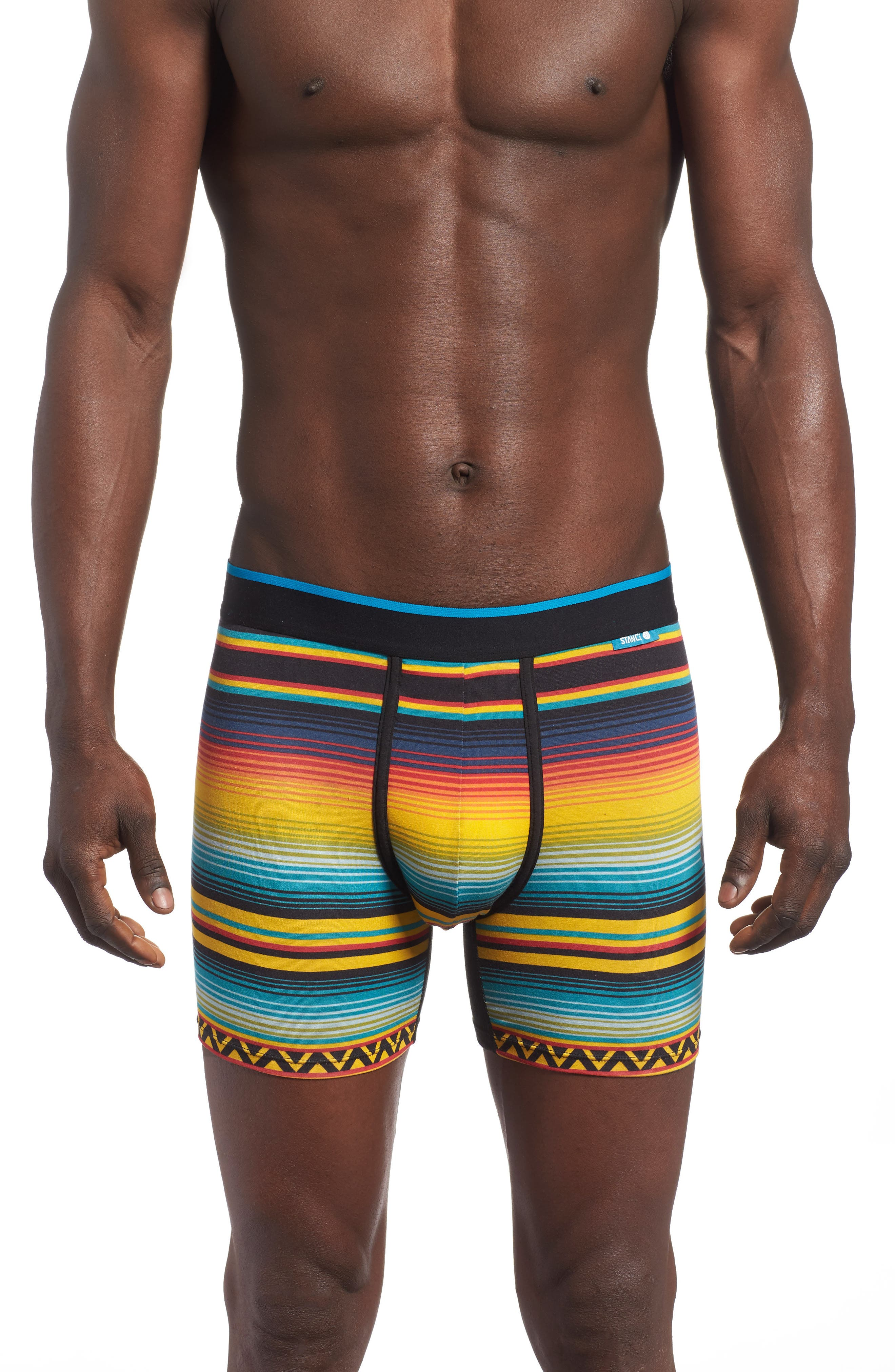 Dark Days Wholester Boxer Briefs,                             Main thumbnail 1, color,                             Yellow Multi