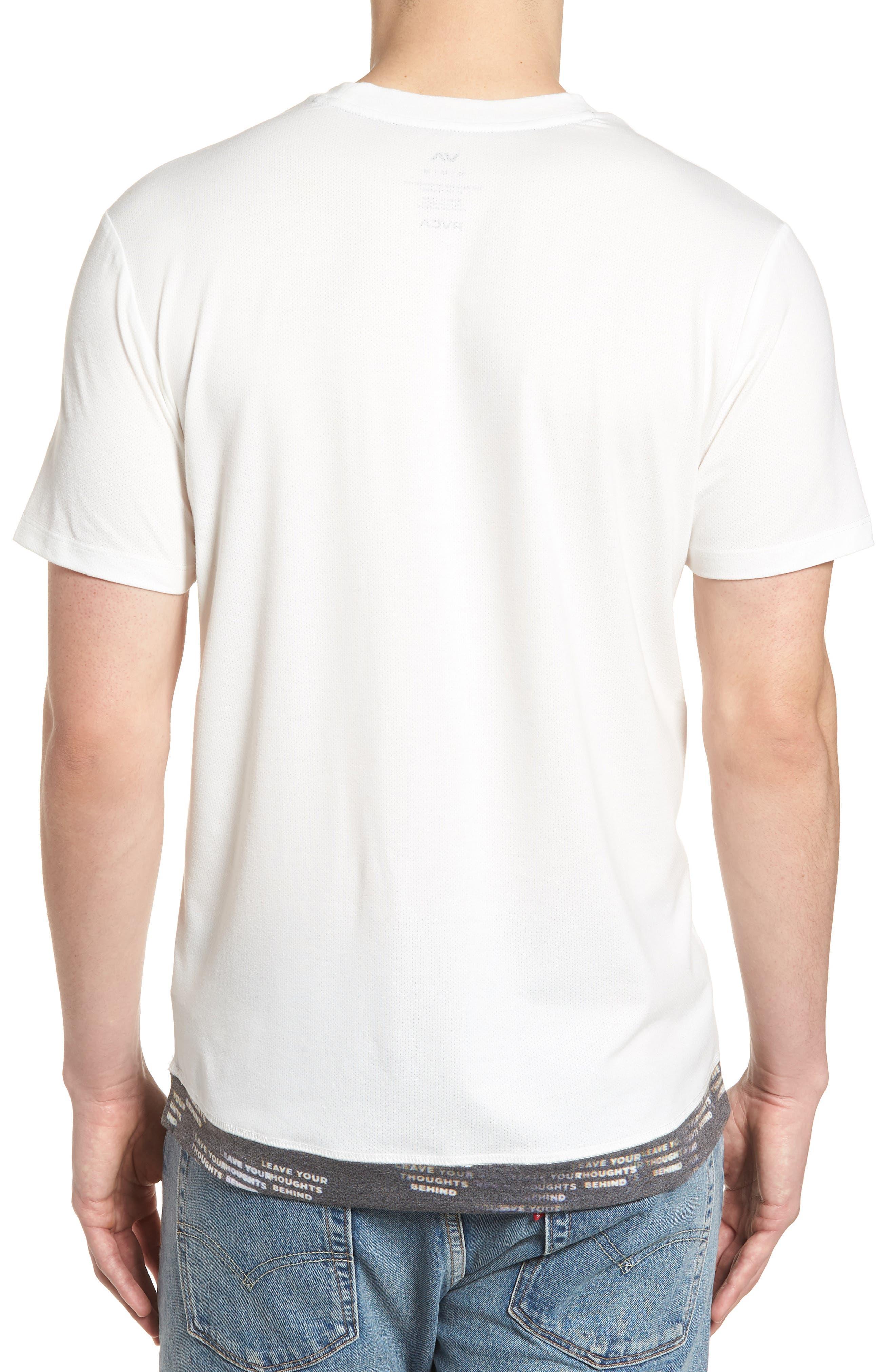 Runner Mesh II T-Shirt,                             Alternate thumbnail 2, color,                             White