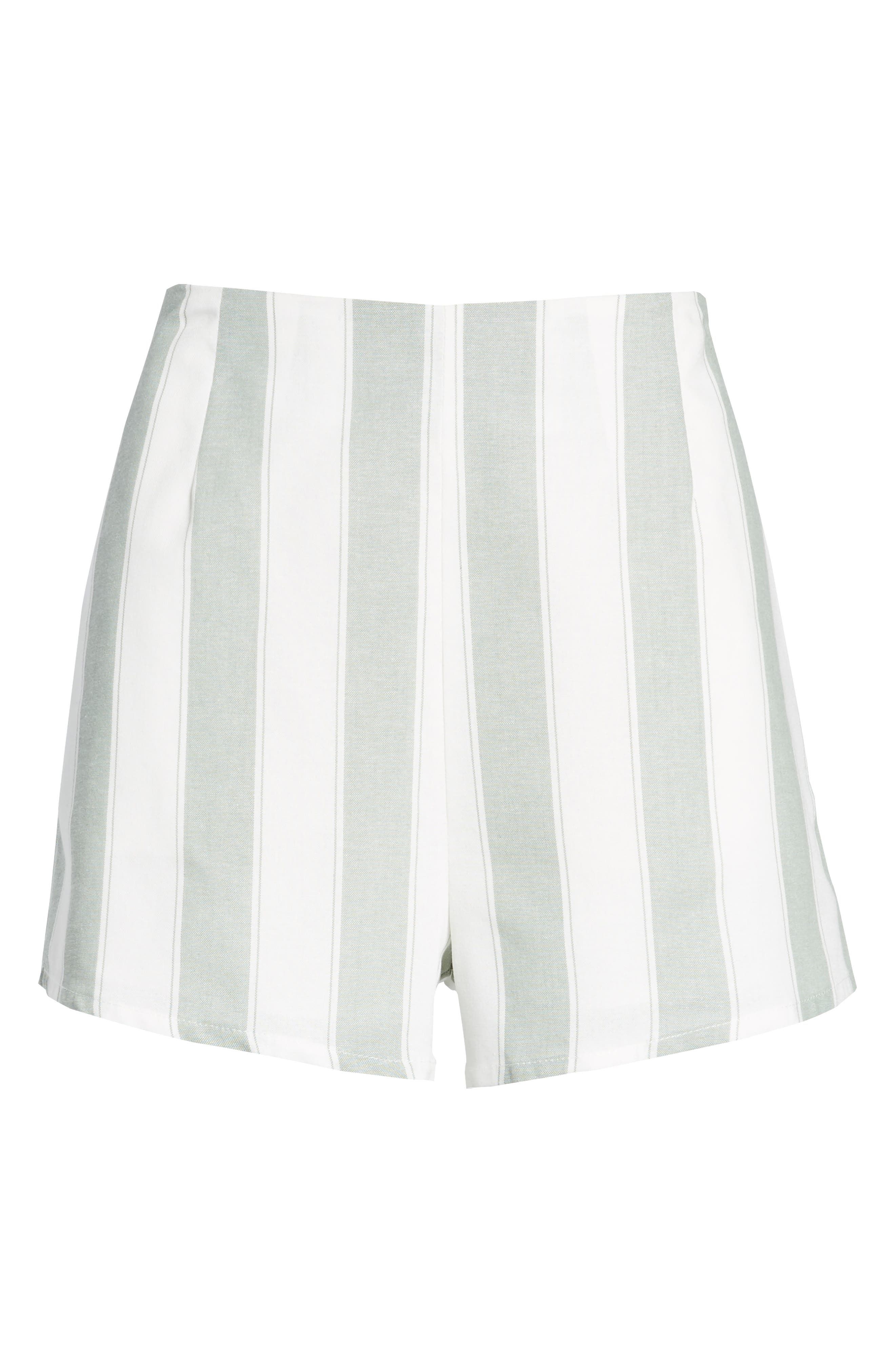 Alternate Image 7  - The Fifth Label Poetic Stripe Shorts