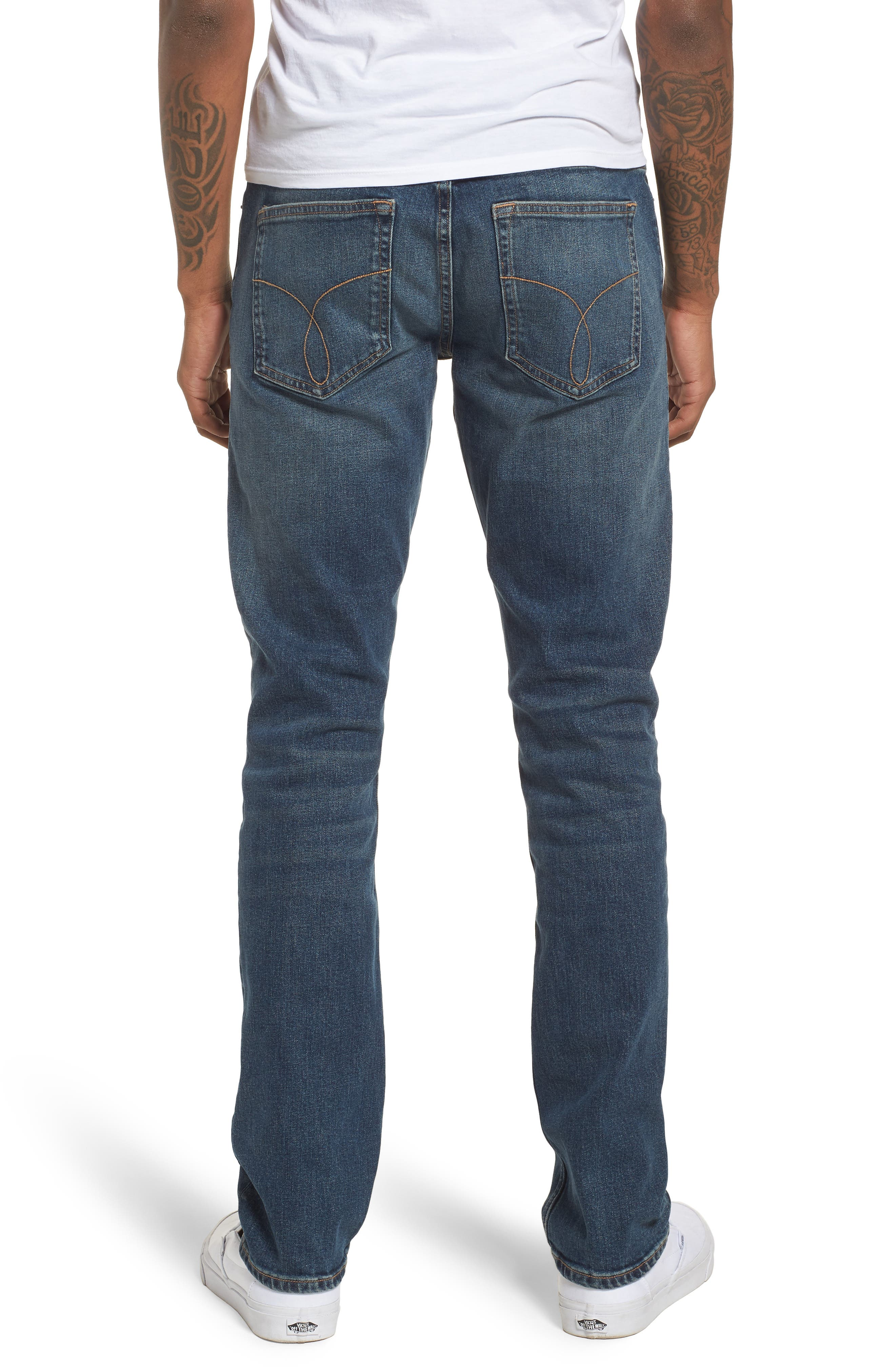 Slim Jeans,                             Alternate thumbnail 2, color,                             Fred Blue