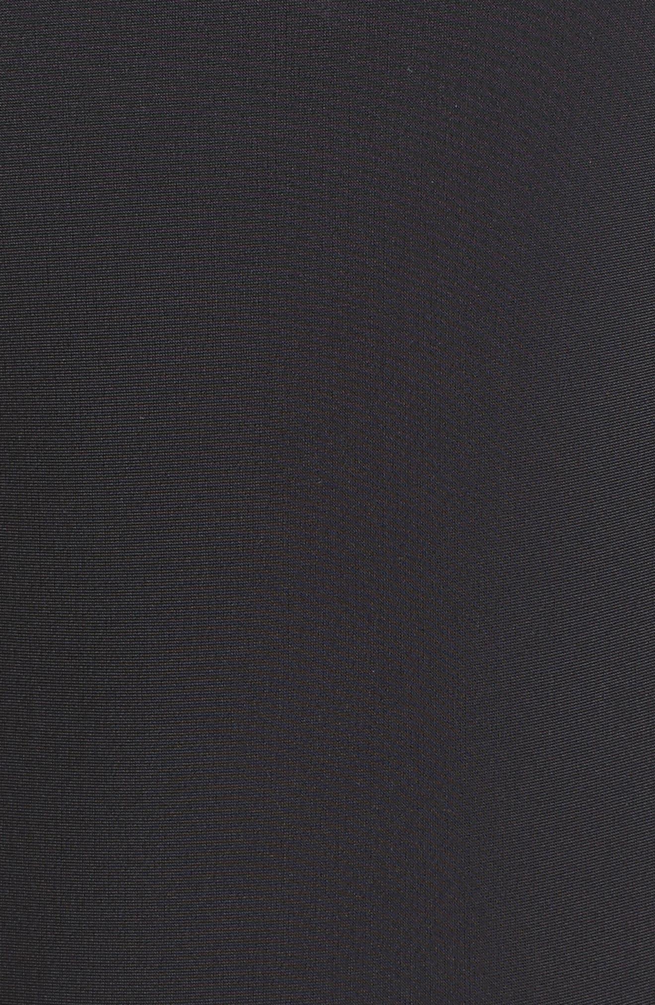 Saldana One-Piece Cutout Swimsuit,                             Alternate thumbnail 5, color,                             Black