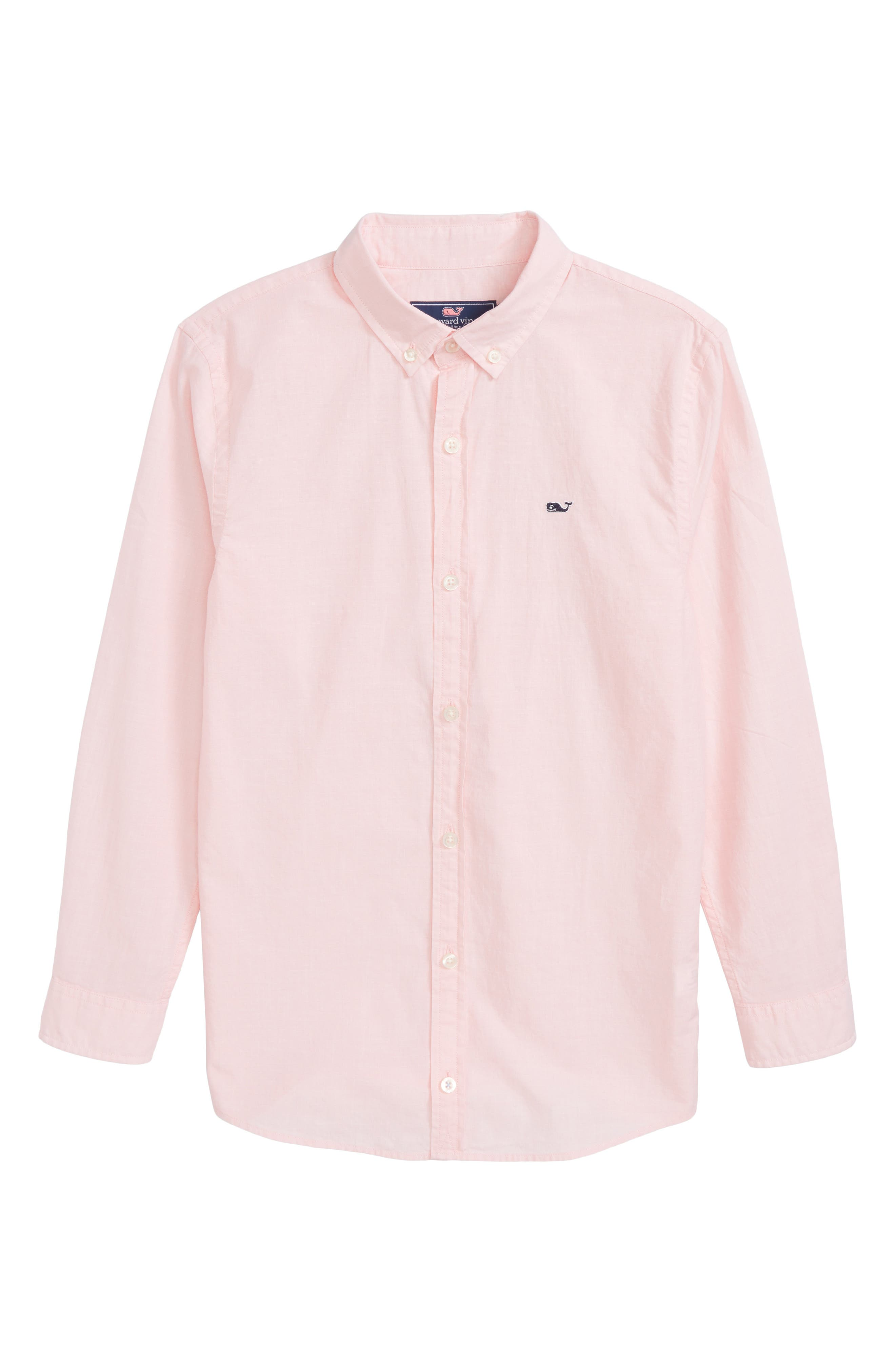 Whale Woven Shirt,                         Main,                         color, Cape Coral