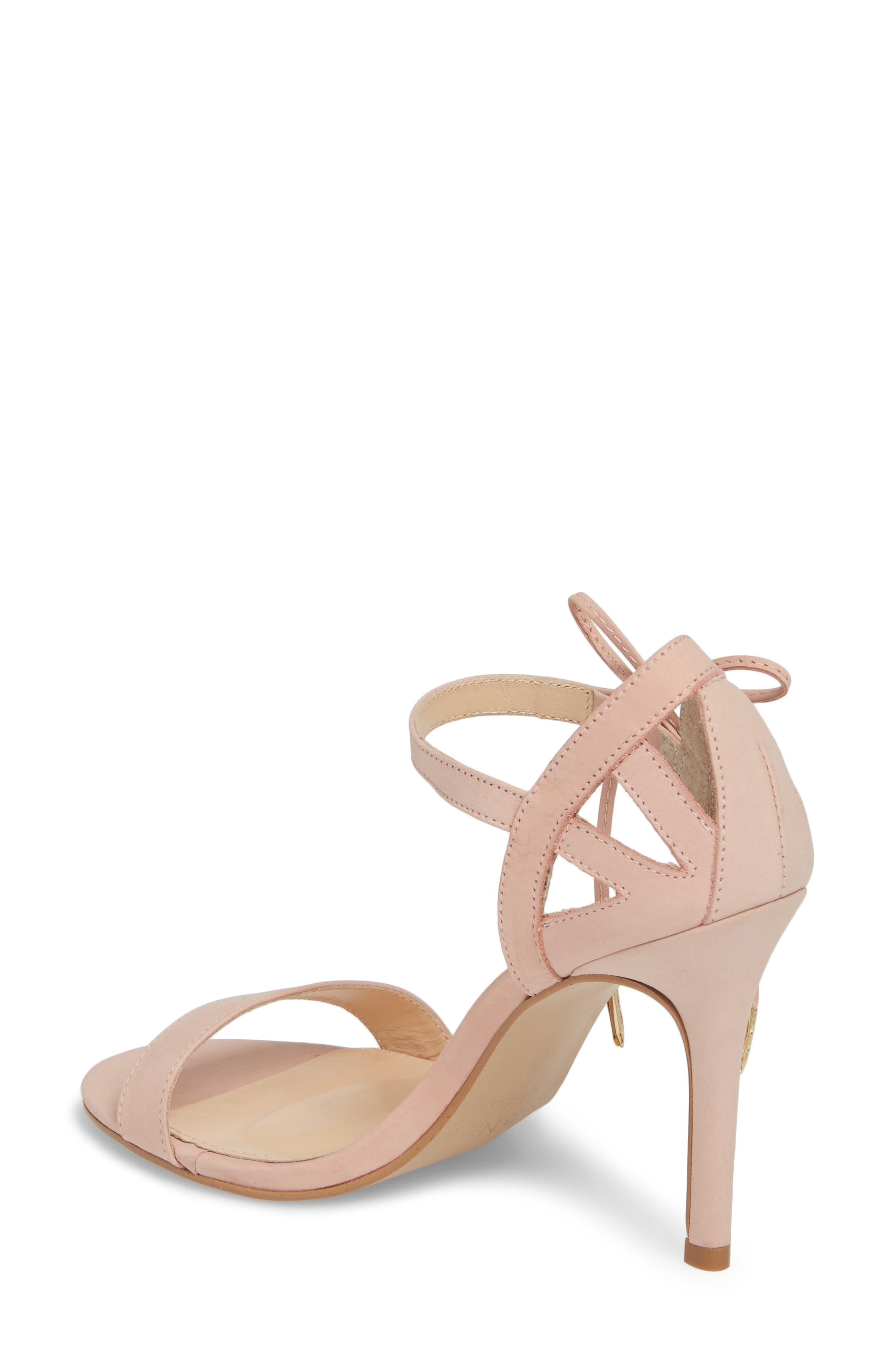 Adelyn Bow Tie Sandal,                             Alternate thumbnail 2, color,                             Quartz Leather