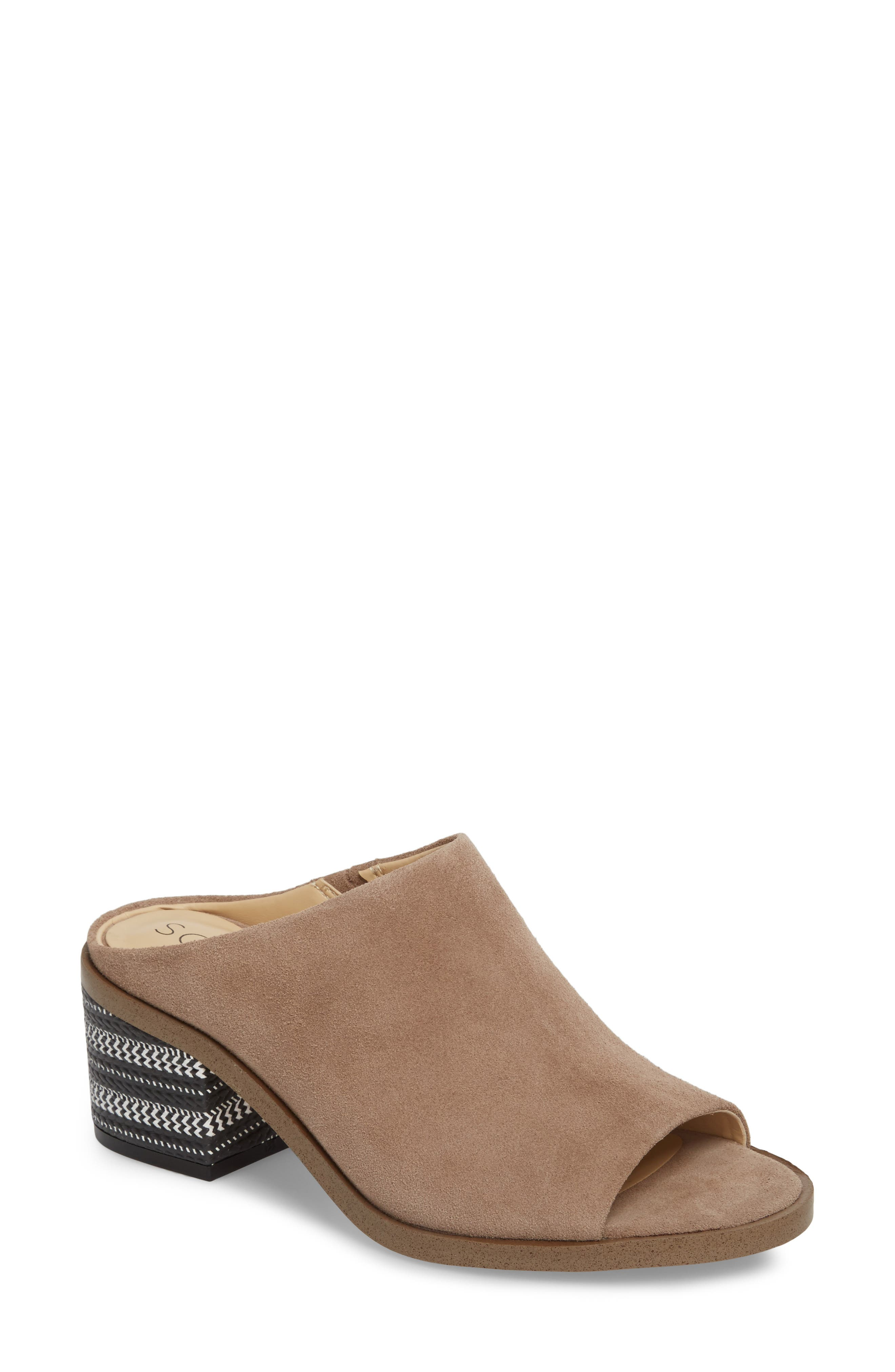 Tammie Mule,                             Main thumbnail 1, color,                             Taupe