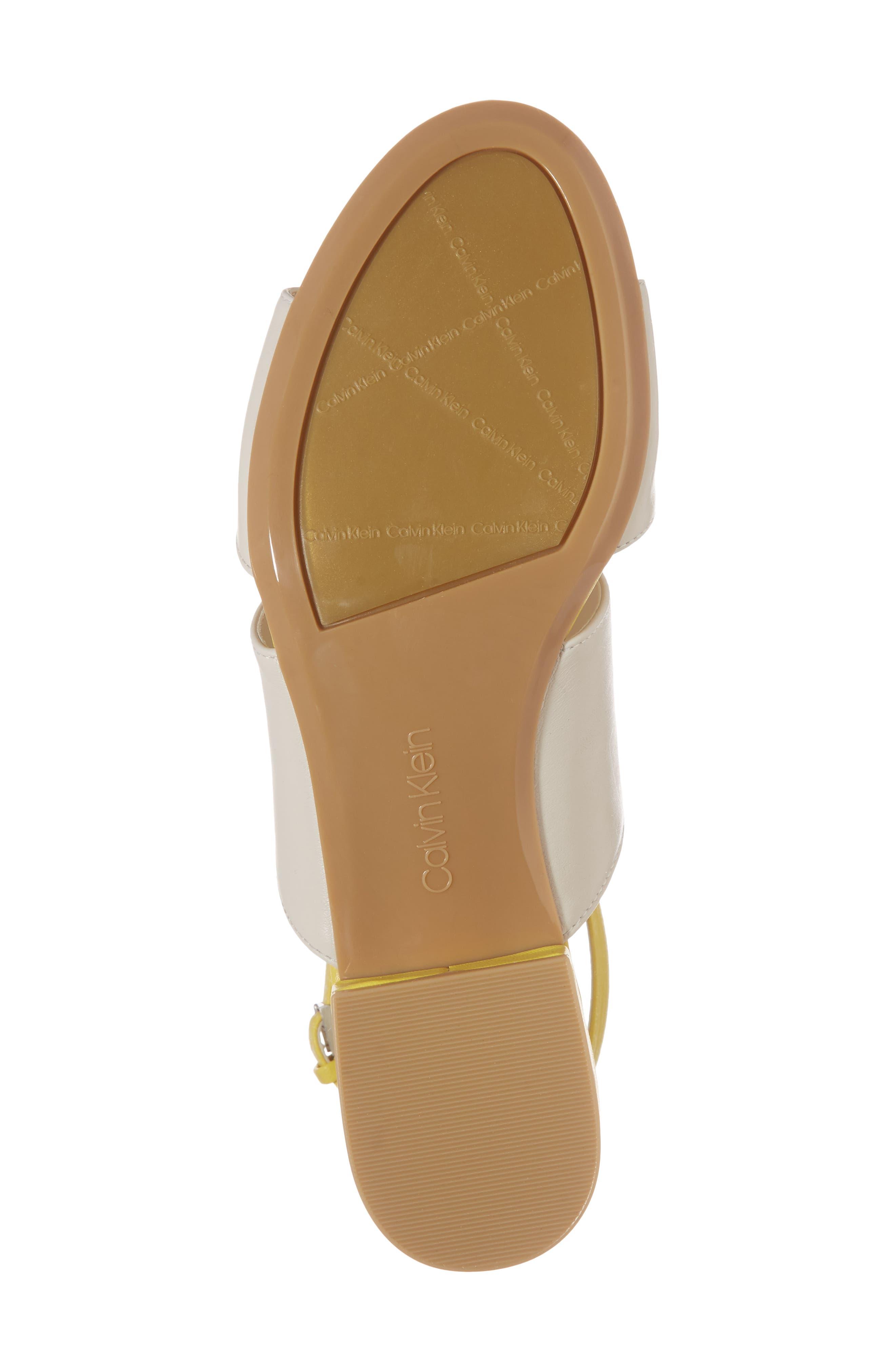 Fernarda Sandal,                             Alternate thumbnail 6, color,                             Soft White Leather