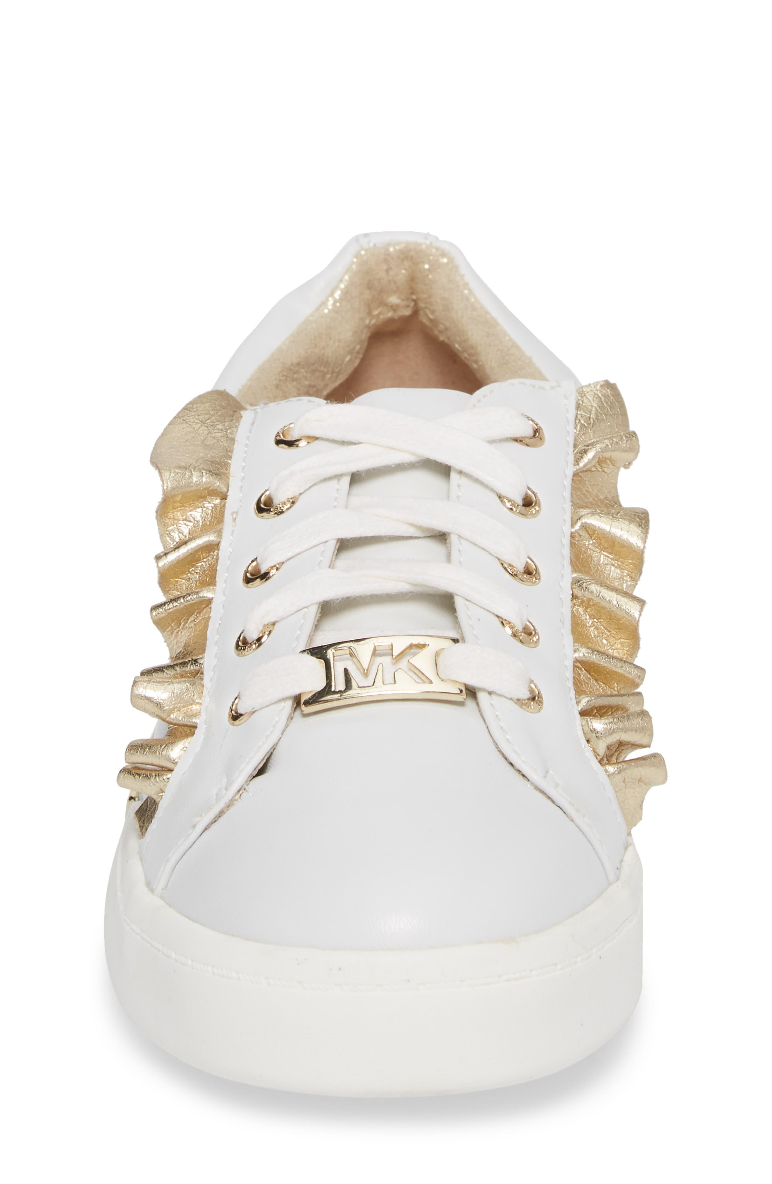 Guard Rail Sneaker,                             Alternate thumbnail 4, color,                             White