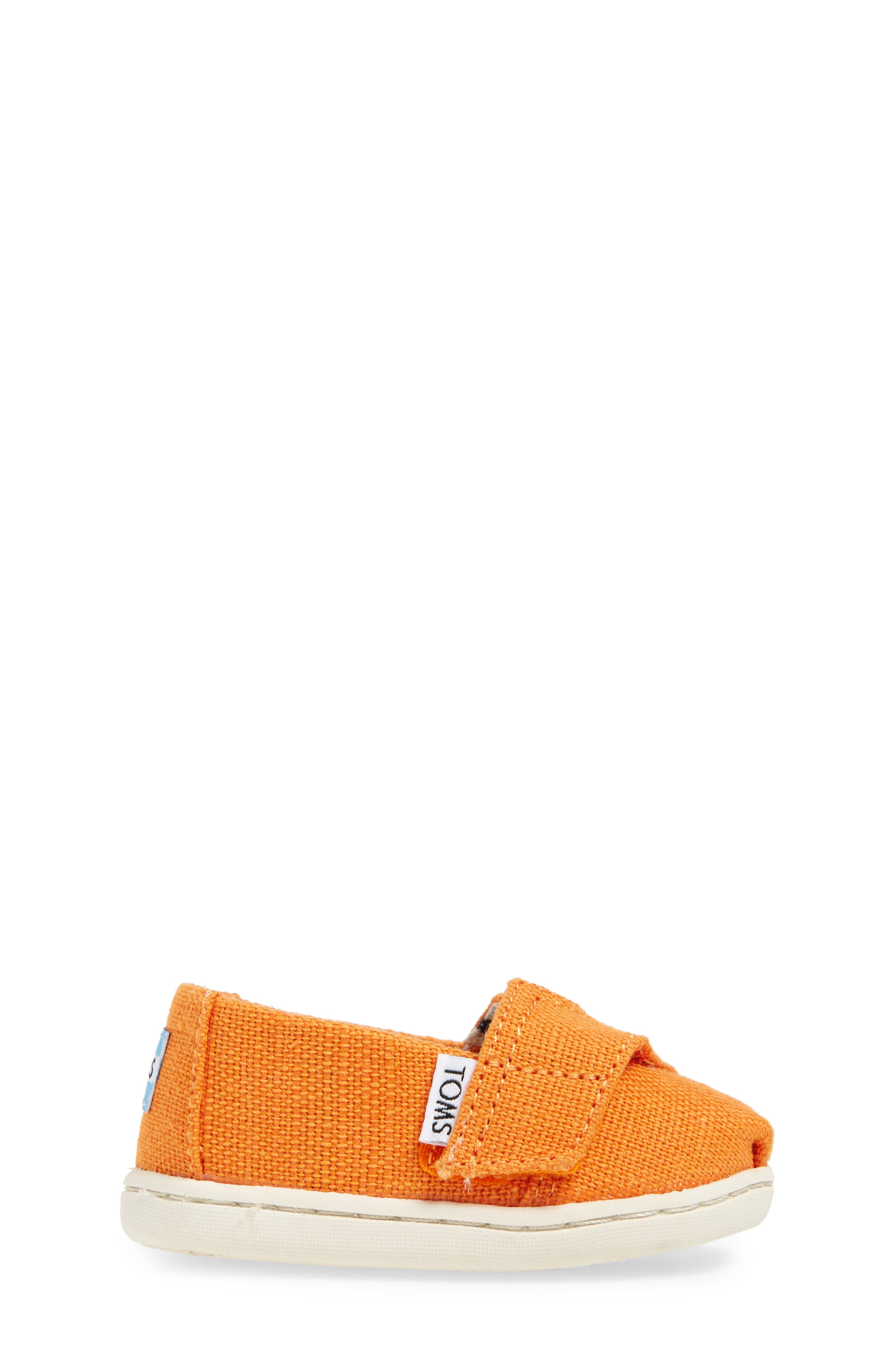 Chambray Slip-On,                             Alternate thumbnail 3, color,                             Russet Orange Heritage Canvas