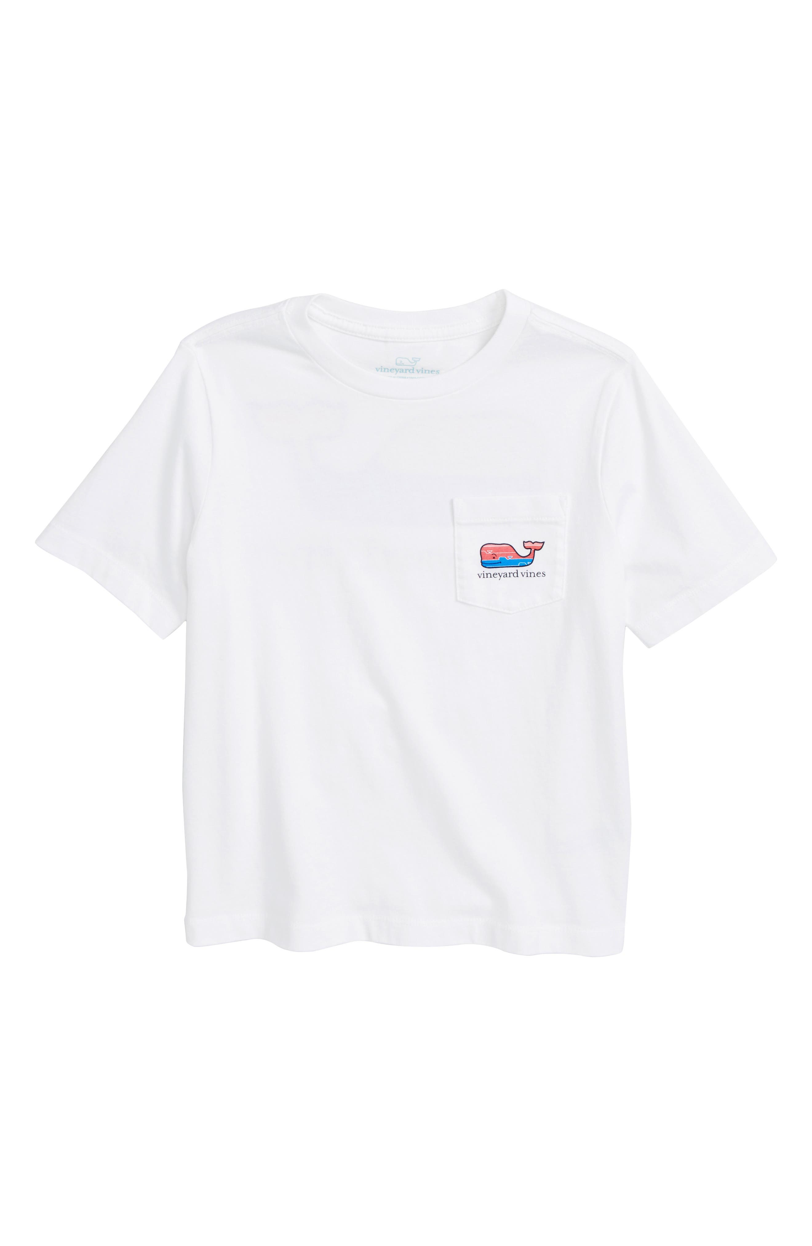 Whale Fill Graphic T-Shirt,                             Main thumbnail 1, color,                             White Cap