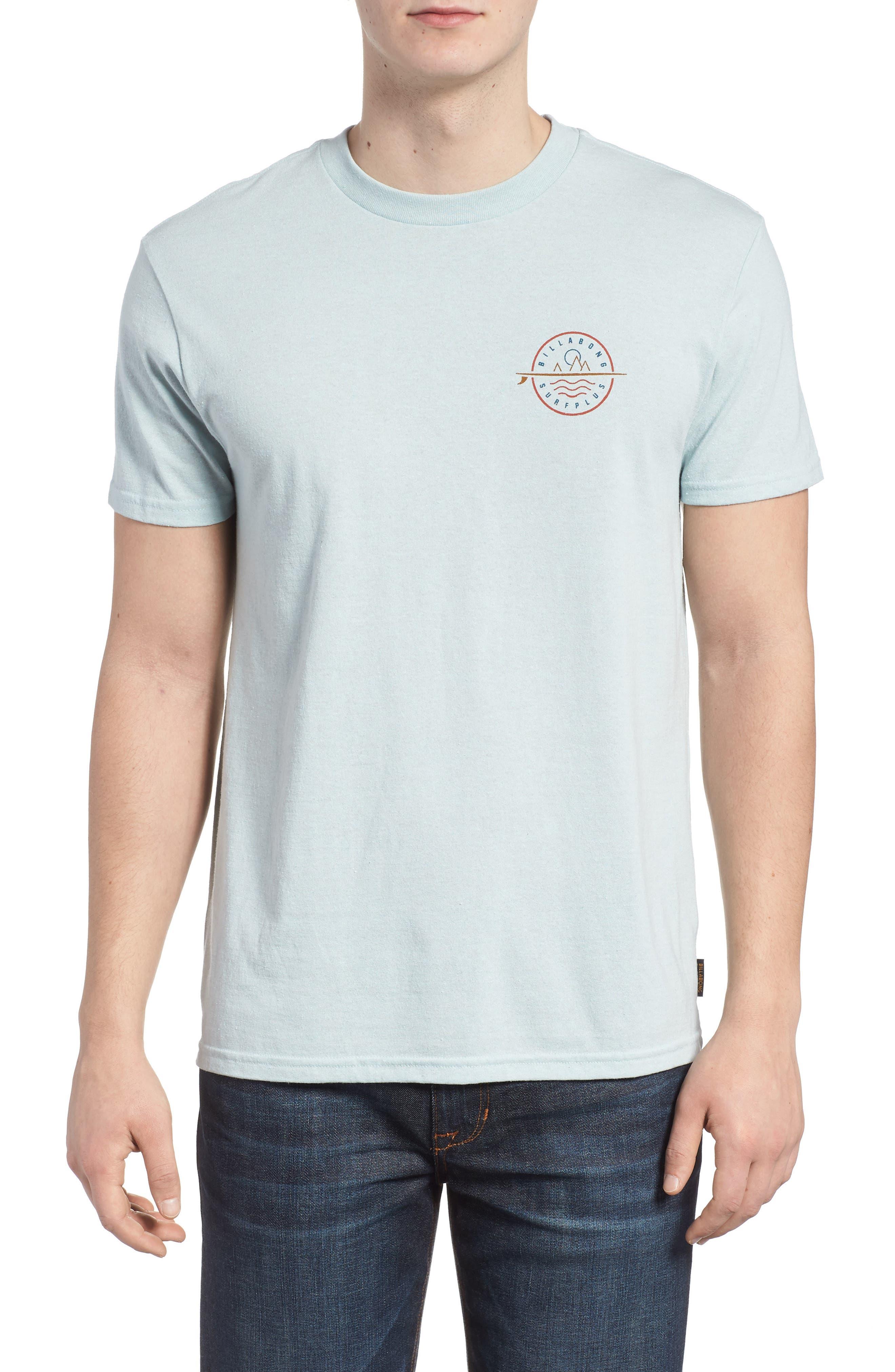 Crossboard Graphic T-Shirt,                         Main,                         color, Light Aqua