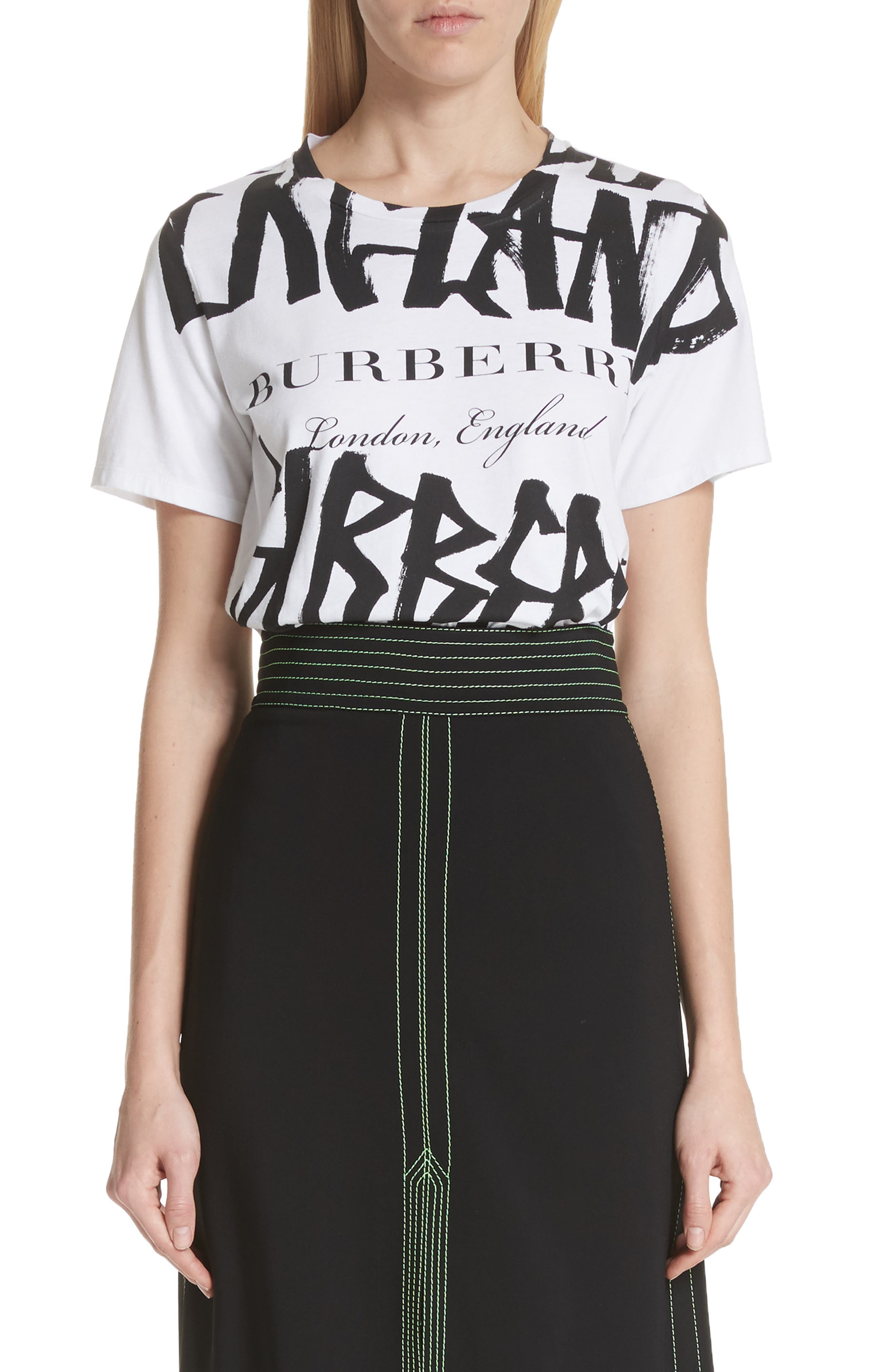 Burberry Boulder Graphic Tee