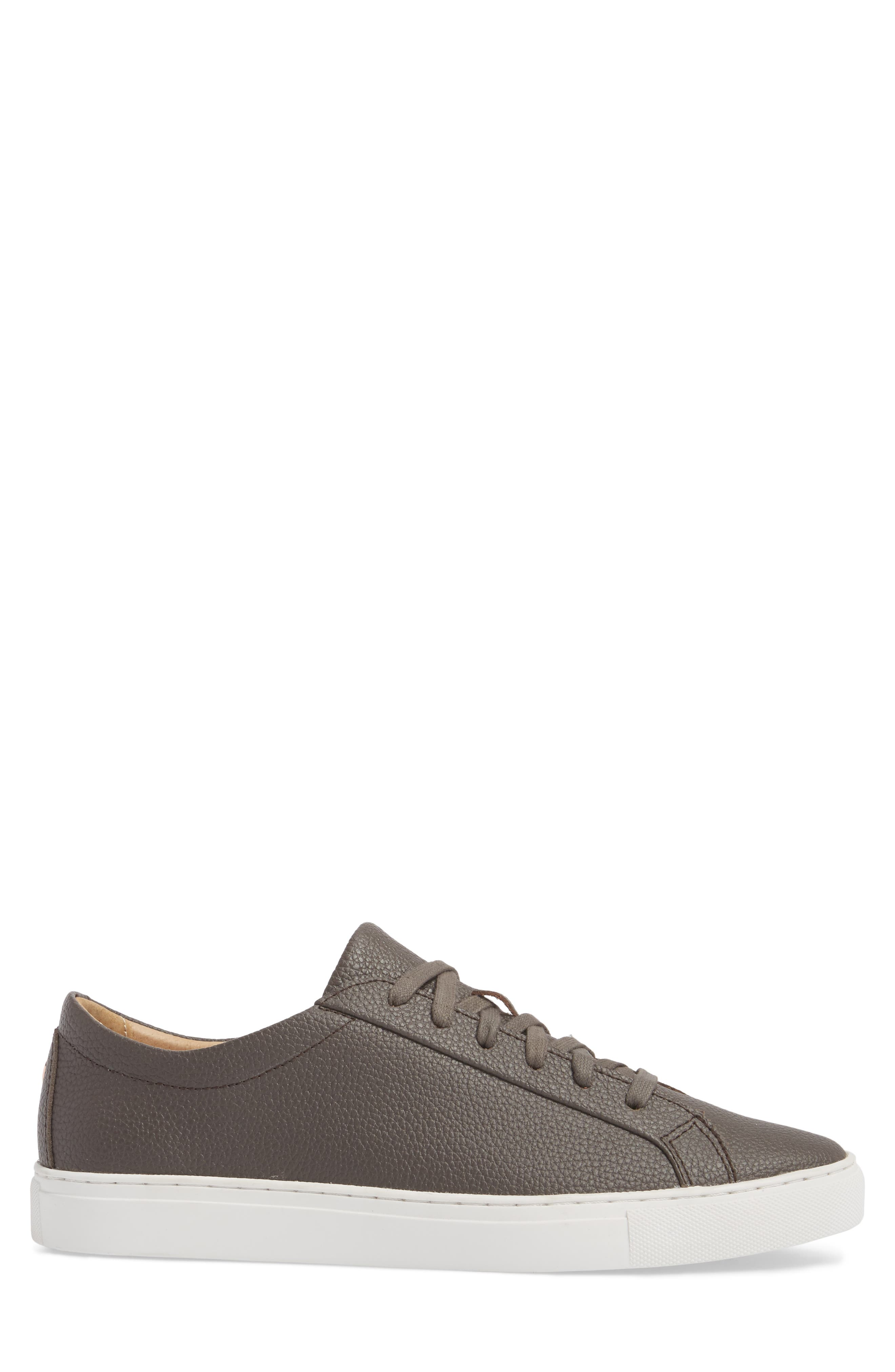 Kennedy Low Top Sneaker,                             Alternate thumbnail 3, color,                             Falcon Leather
