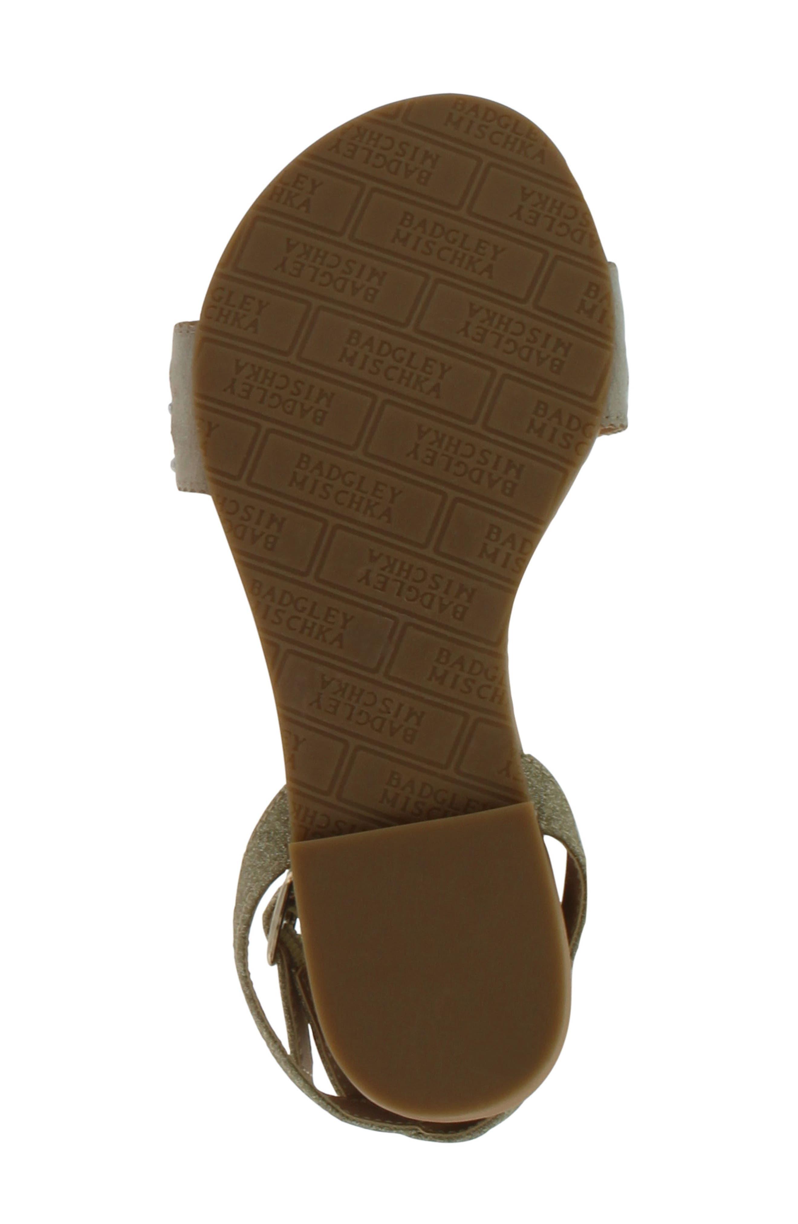 Alternate Image 6  - Badgley Mischka Cara Embellished Sandal (Toddler, Little Kid & Big Kid)