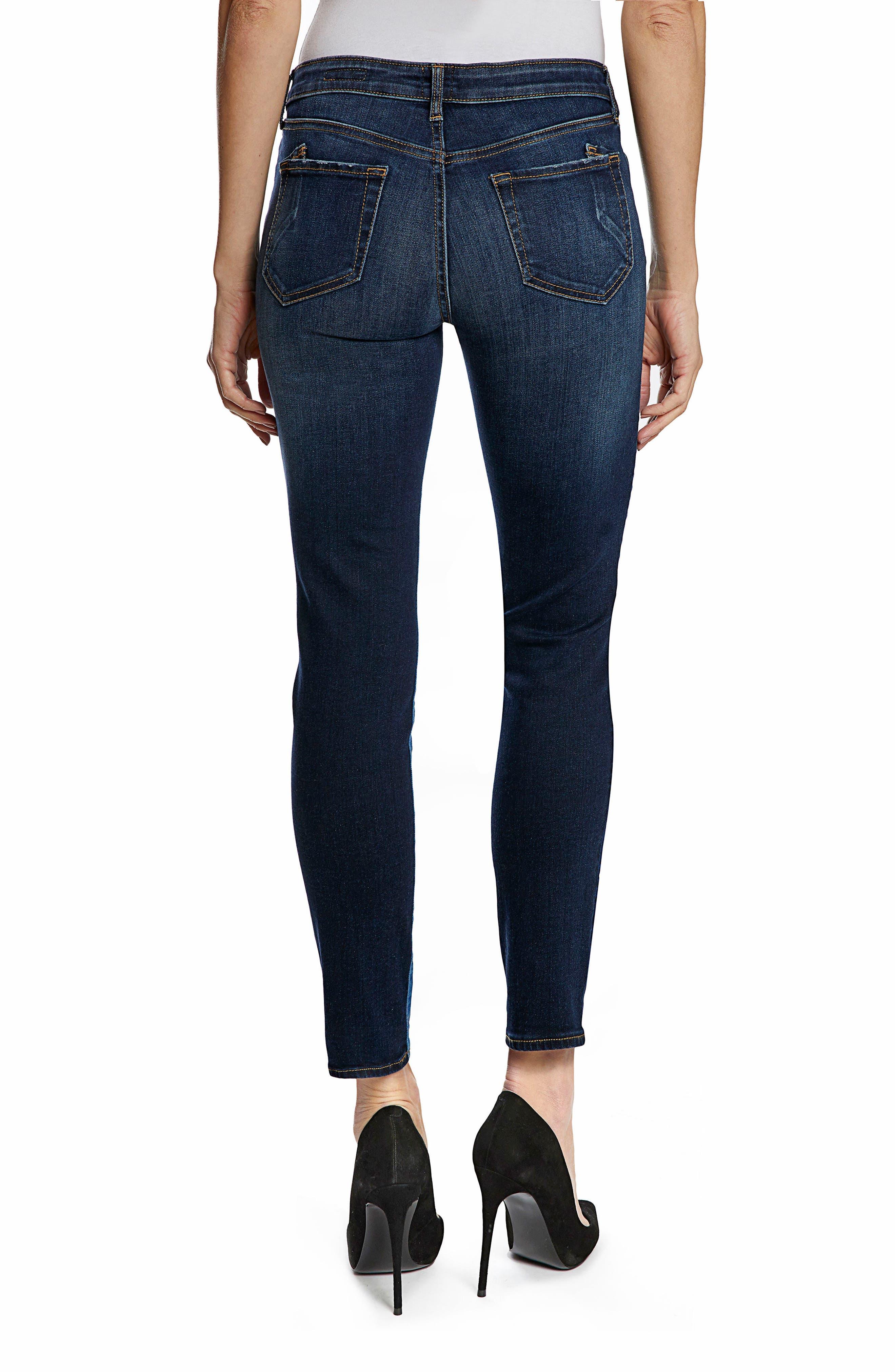 Camaro Ankle Skinny Jeans,                             Alternate thumbnail 2, color,                             Indigo