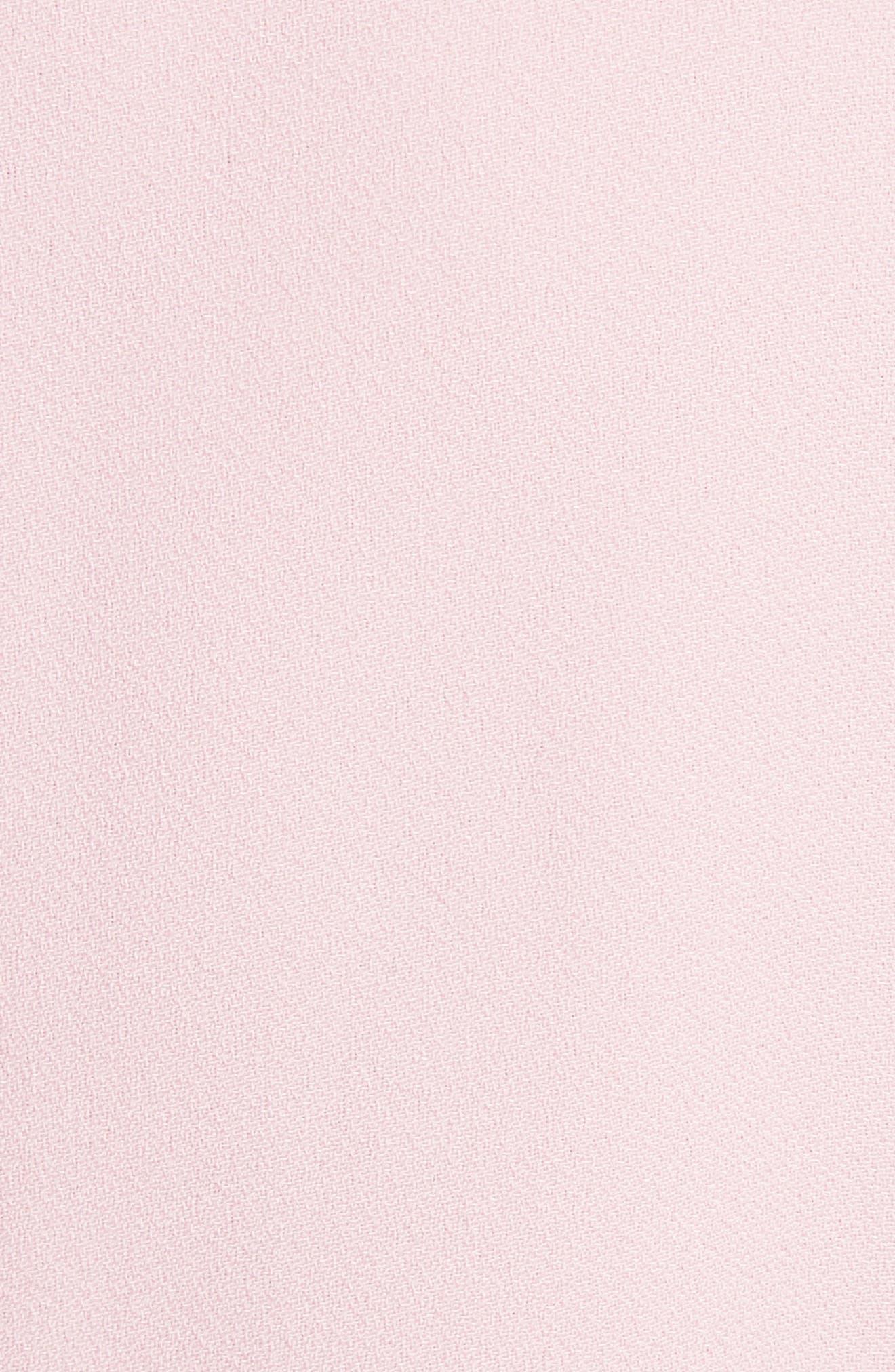 Steyla Ruffle Dress,                             Alternate thumbnail 5, color,                             Dusky Pink