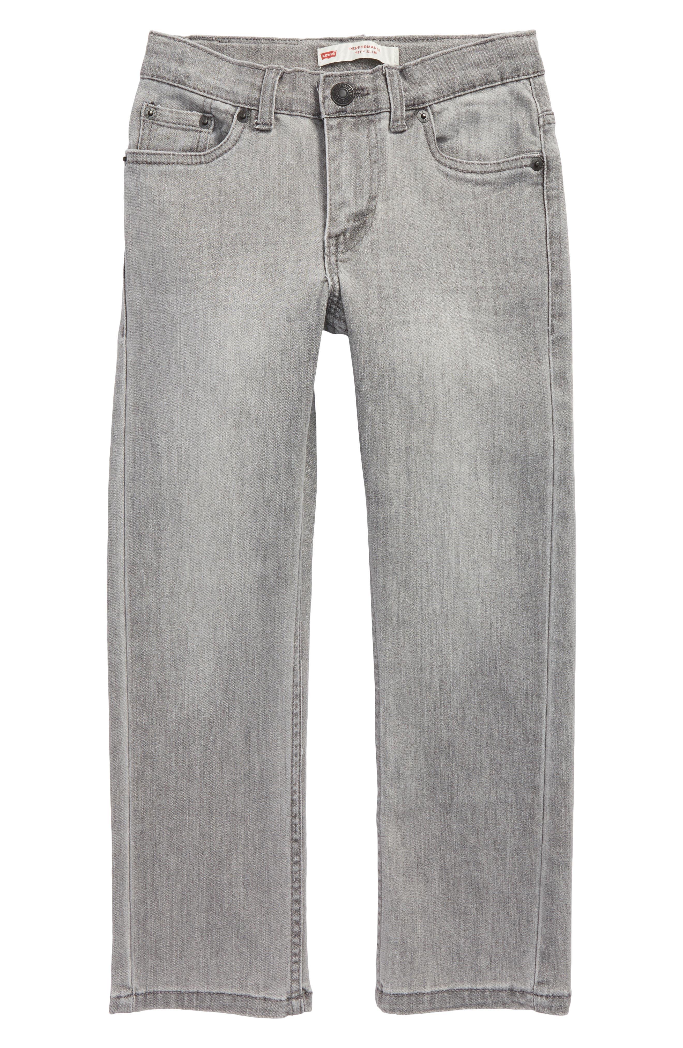 511<sup>™</sup> Knit Slim Leg Jeans,                         Main,                         color, Carli Blue
