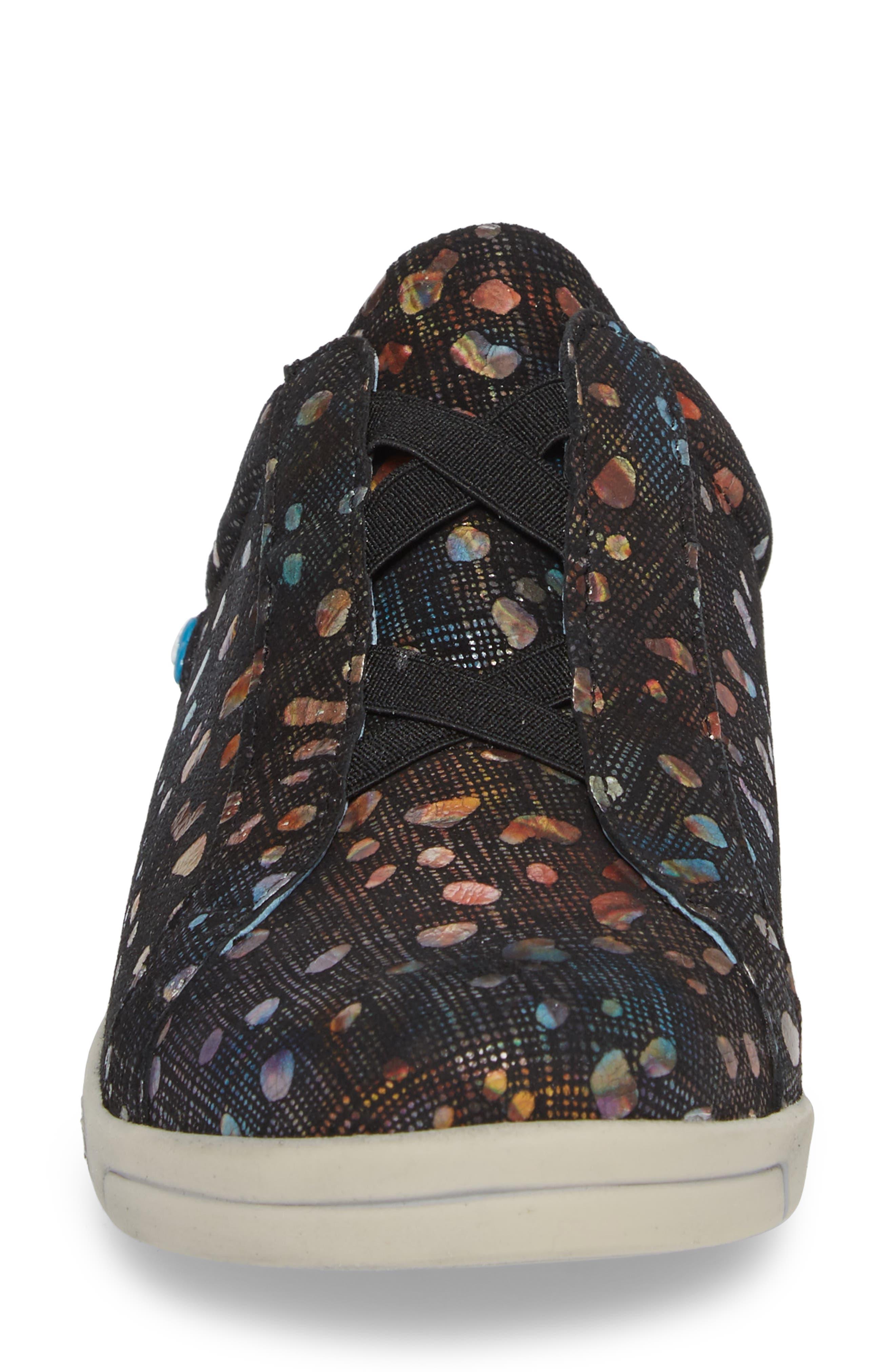 Arizona Fantasy Mule Sneaker,                             Alternate thumbnail 4, color,                             Bubble Leather