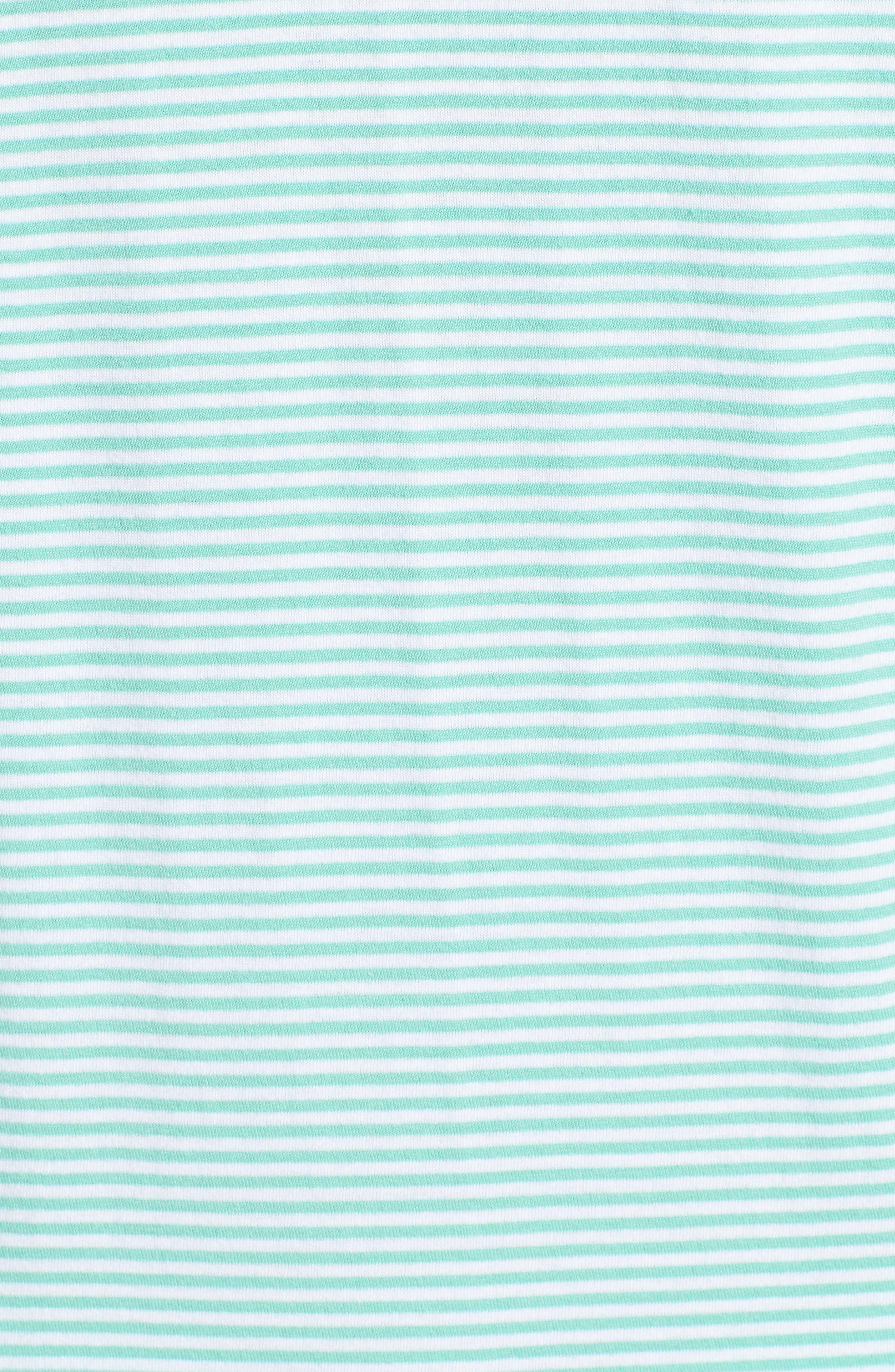 Jack Stripe Jersey Polo,                             Alternate thumbnail 5, color,                             Fern