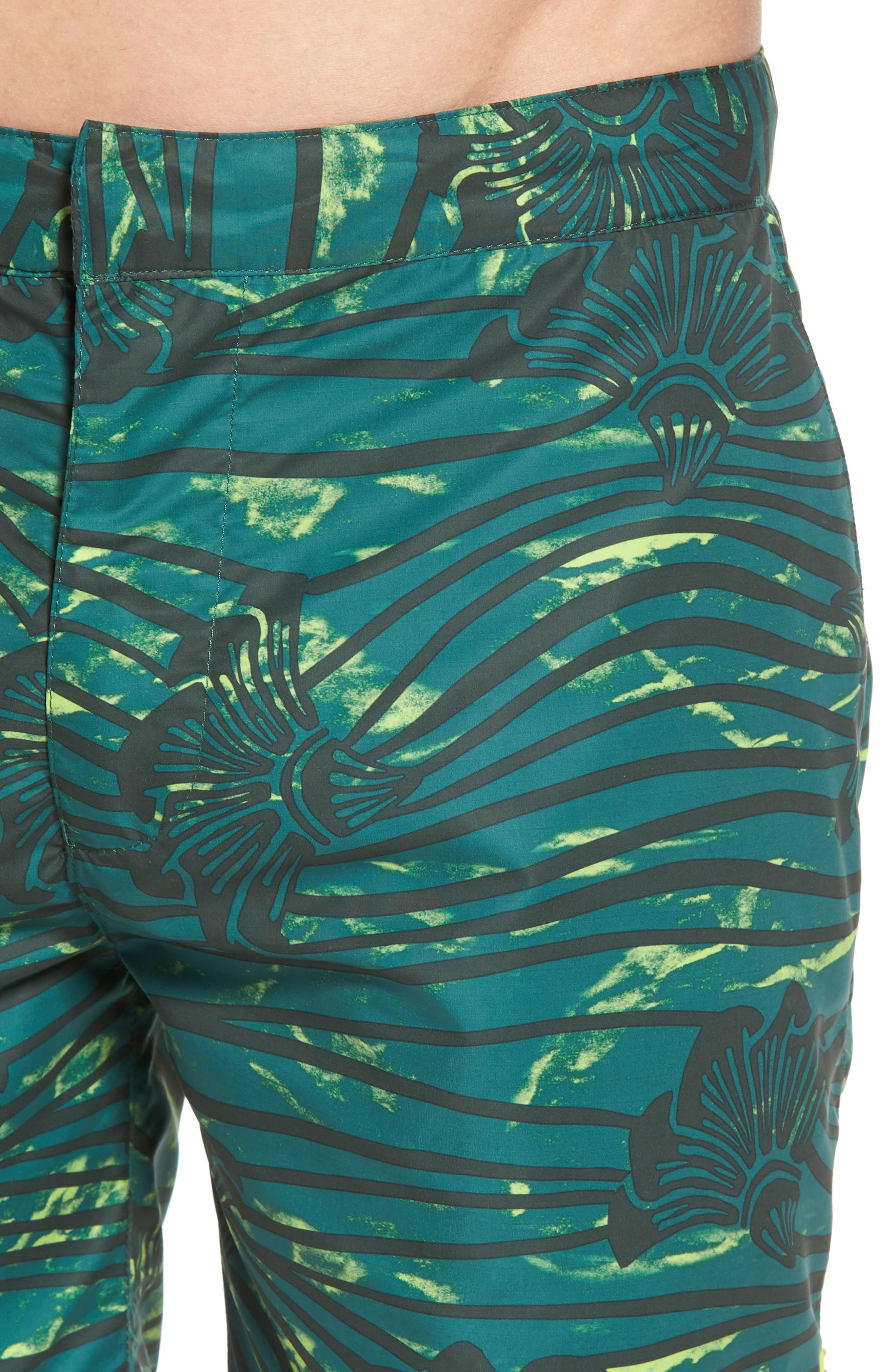 Patterned Board Shorts,                             Alternate thumbnail 4, color,                             Combo E