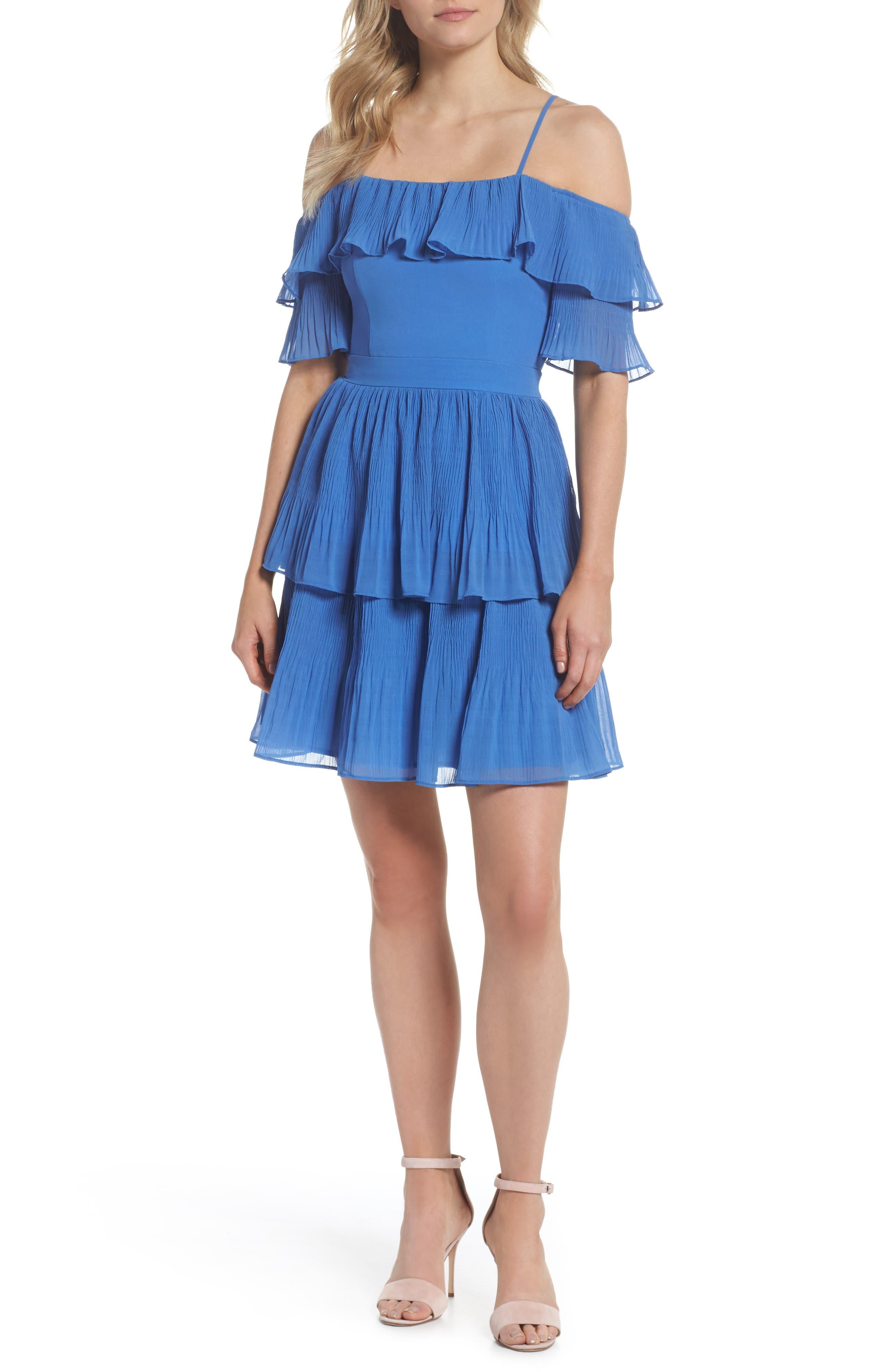 Adelyn Rae Rosalie Cold Shoulder Dress