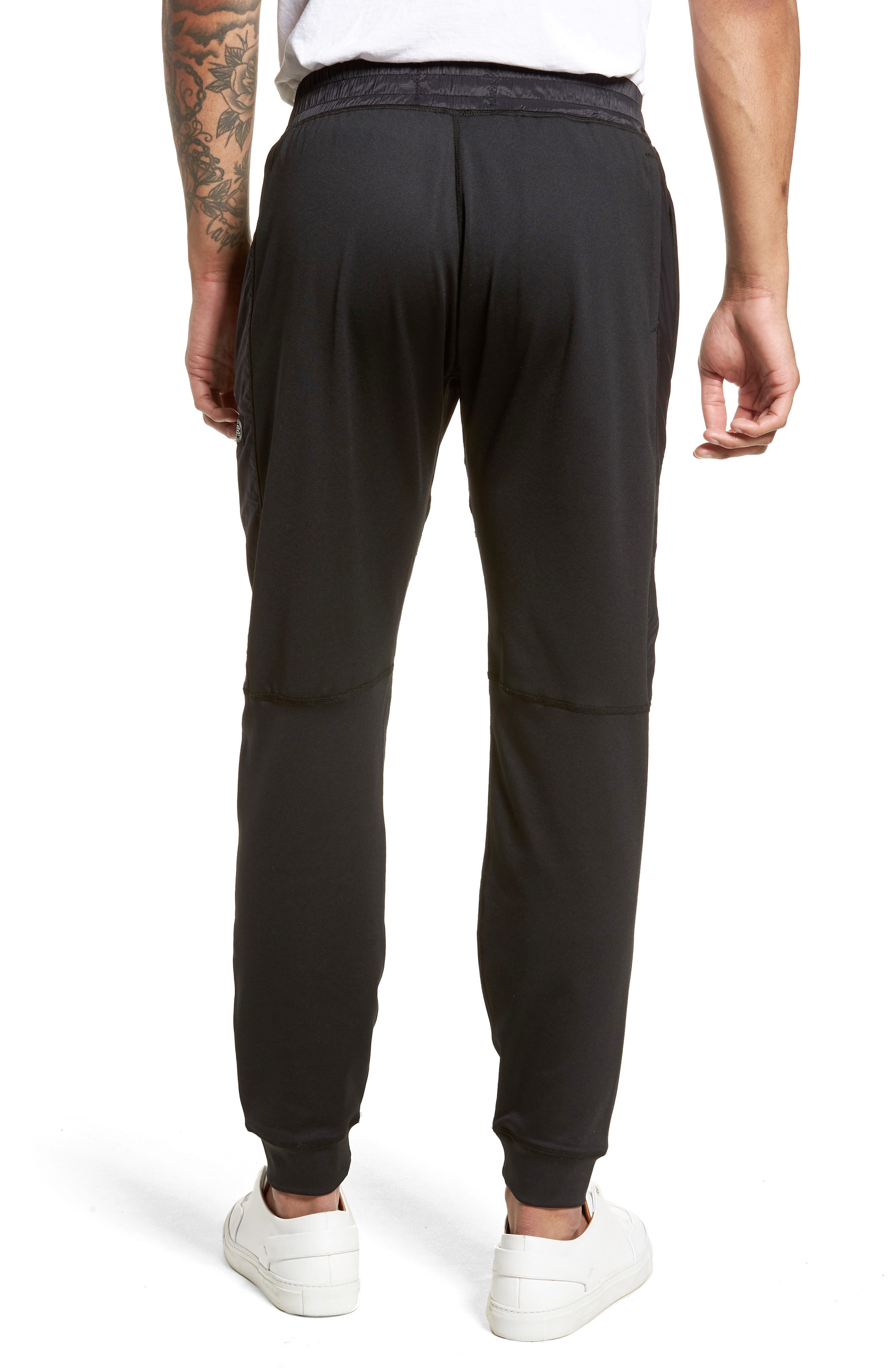 Hybrid CoolMax<sup>®</sup> Pants,                             Alternate thumbnail 2, color,                             Black