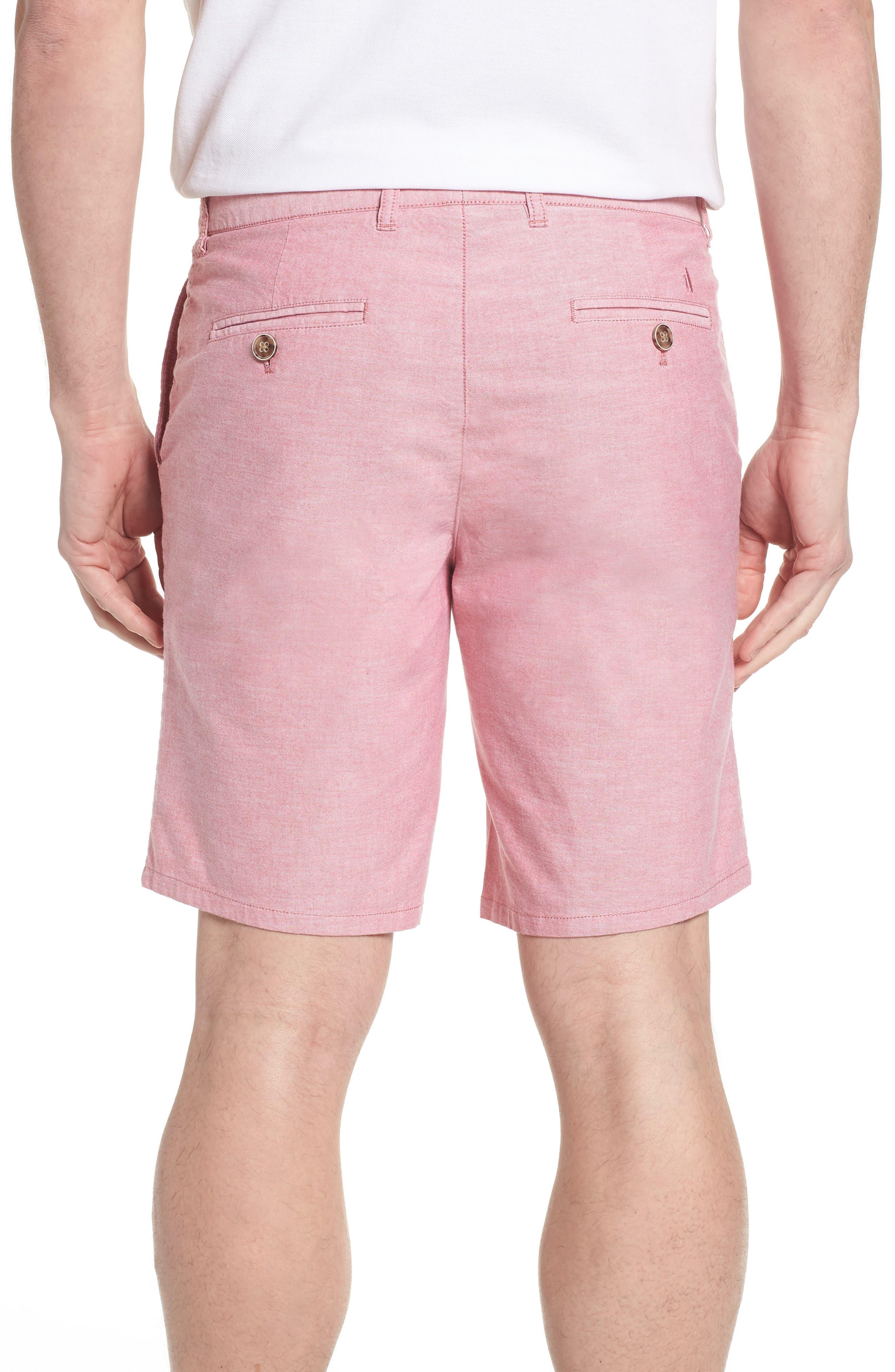 Merritt Regular Fit Shorts,                             Alternate thumbnail 2, color,                             Malibu Red