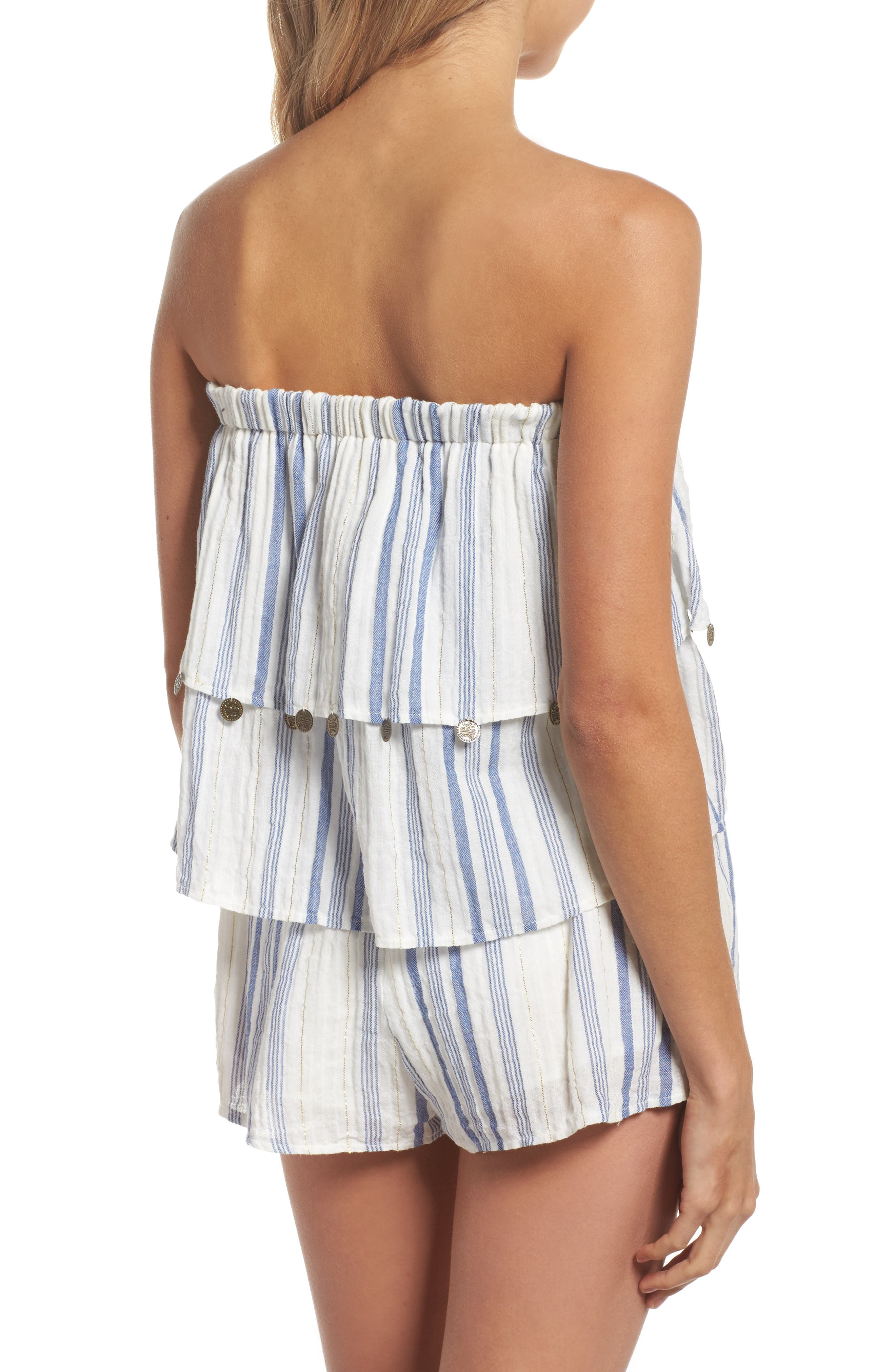Alternate Image 2  - Surf Gypsy Bali Cover-Up Romper