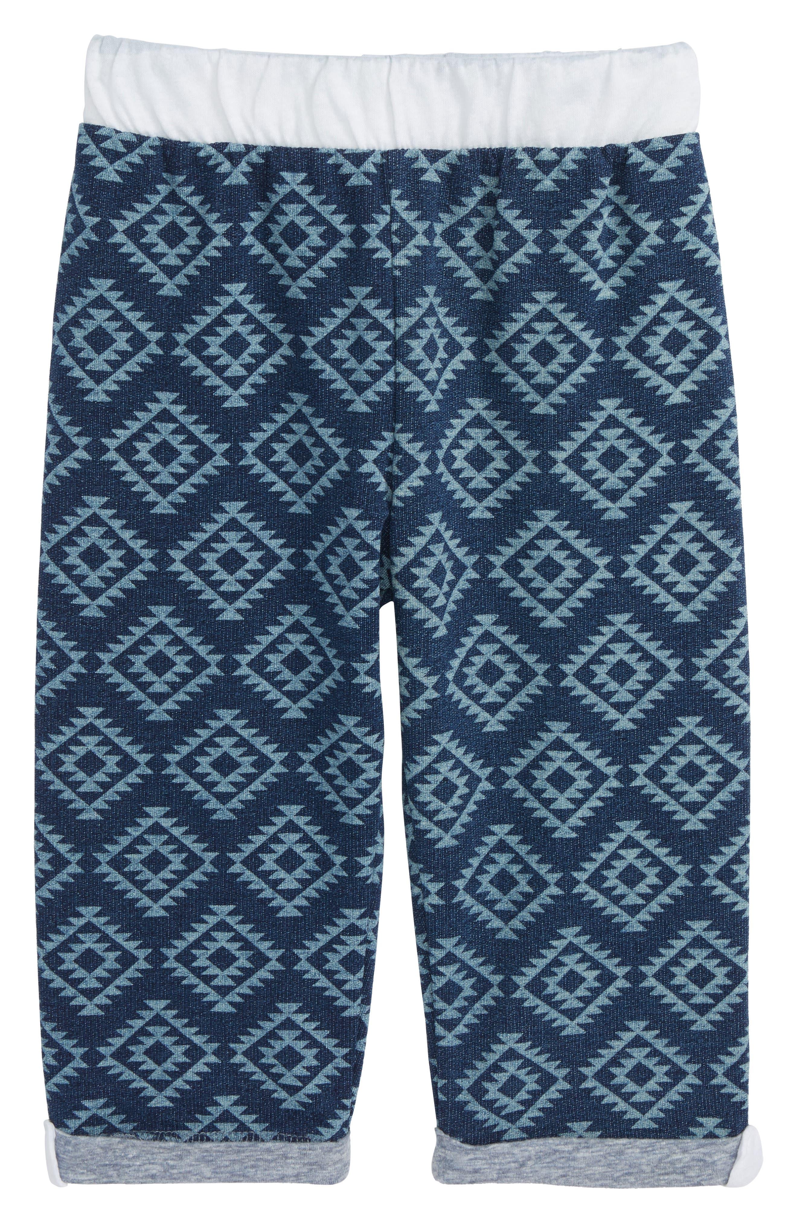 Brody Print Knit Shorts,                             Main thumbnail 1, color,                             Yuma