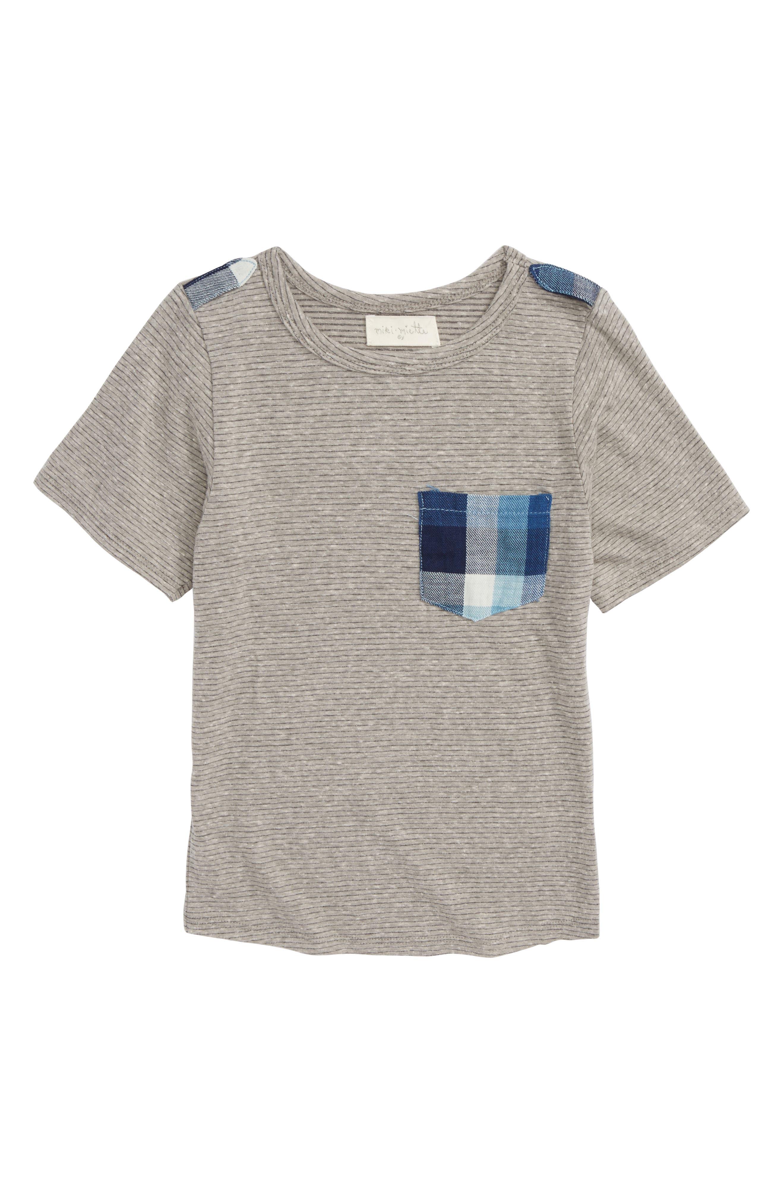 Miki Miette Ranger Pocket T-Shirt (Toddler Boys, Little Boys & Big Boys)