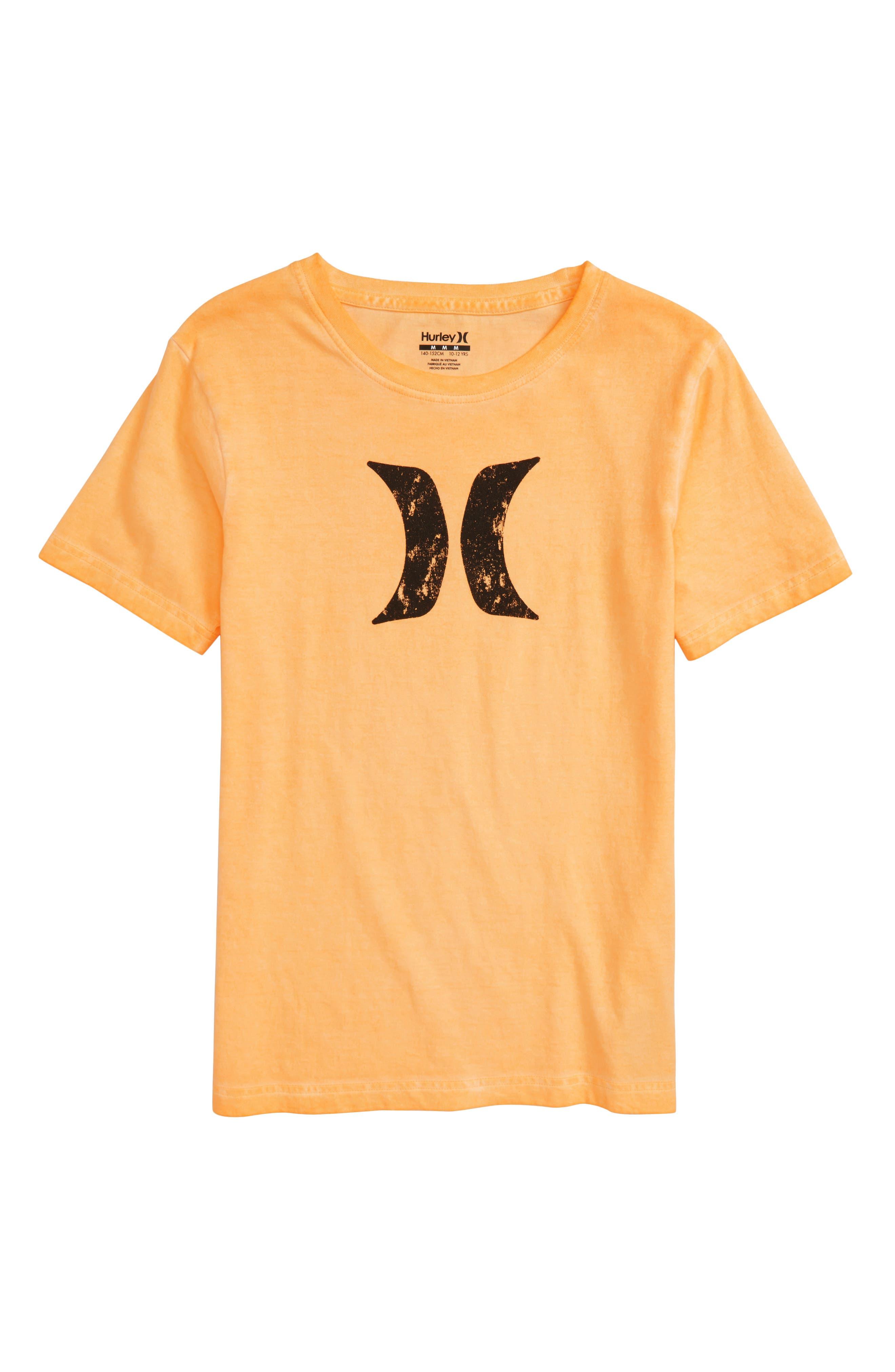 Destroy Graphic T-Shirt,                             Main thumbnail 1, color,                             Laser Orange