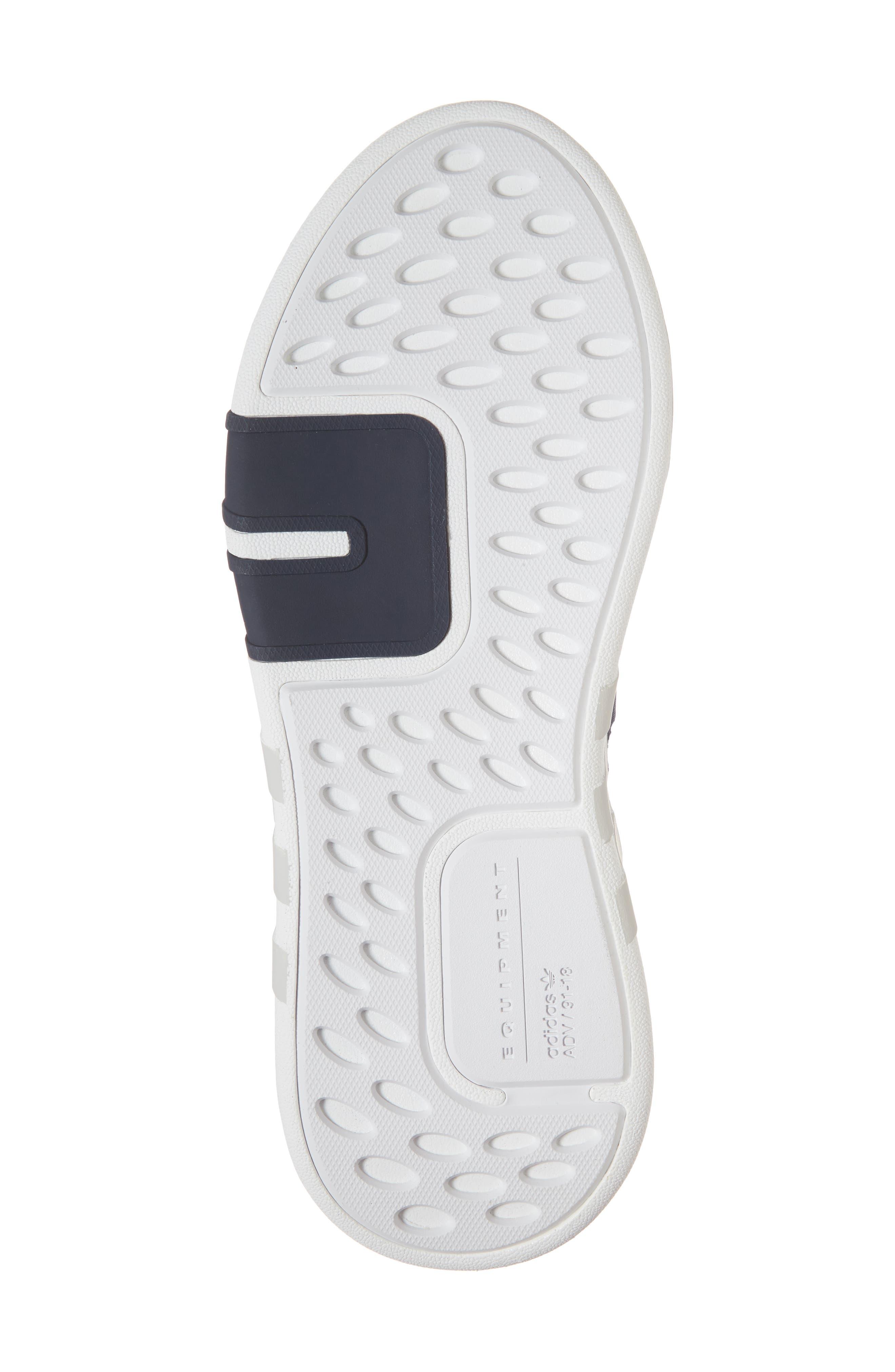 EQT Basketball ADV Sneaker,                             Alternate thumbnail 6, color,                             Collegiate Navy/ Real Coral