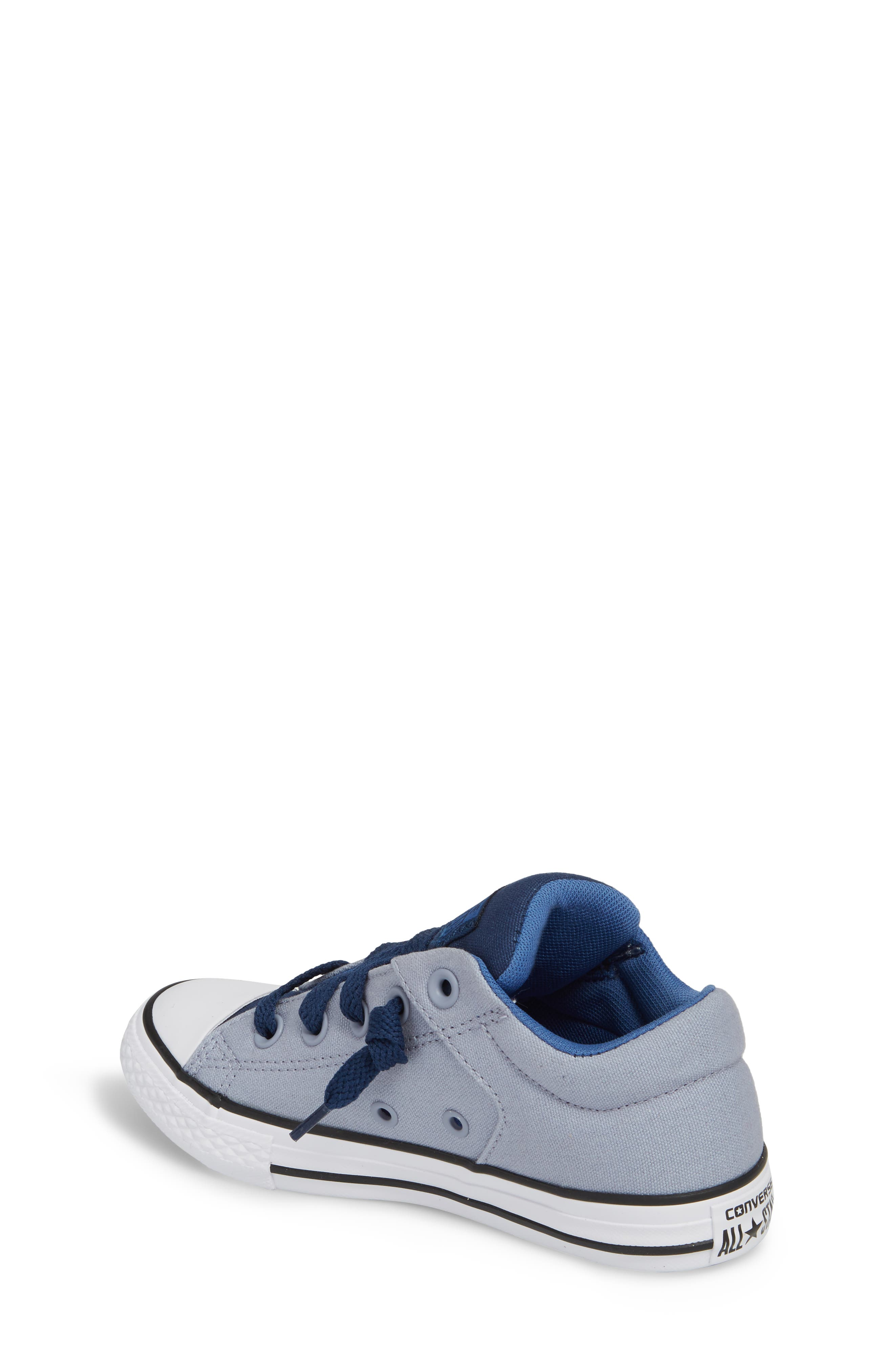 Chuck Taylor<sup>®</sup> All Star<sup>®</sup> 'High Street' Slip-On Sneaker,                             Alternate thumbnail 2, color,                             Glacier Grey