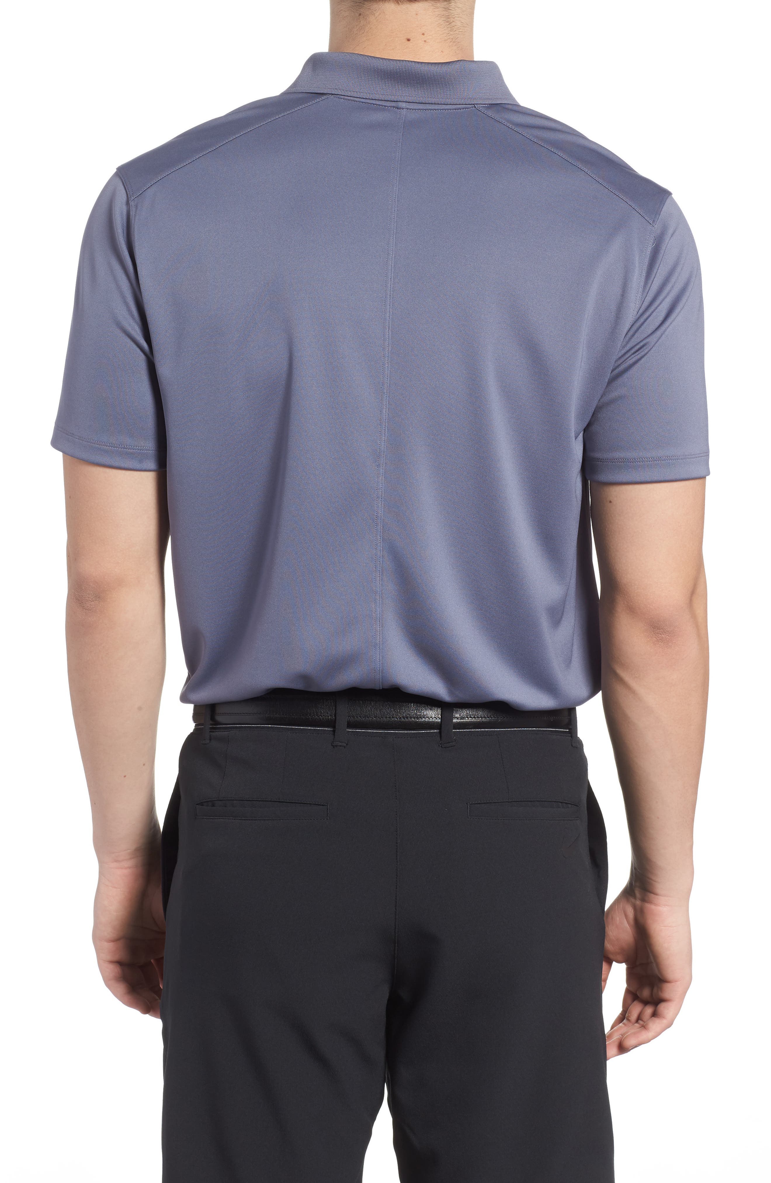 Dry Victory Golf Polo,                             Alternate thumbnail 2, color,                             Light Carbon/ Black
