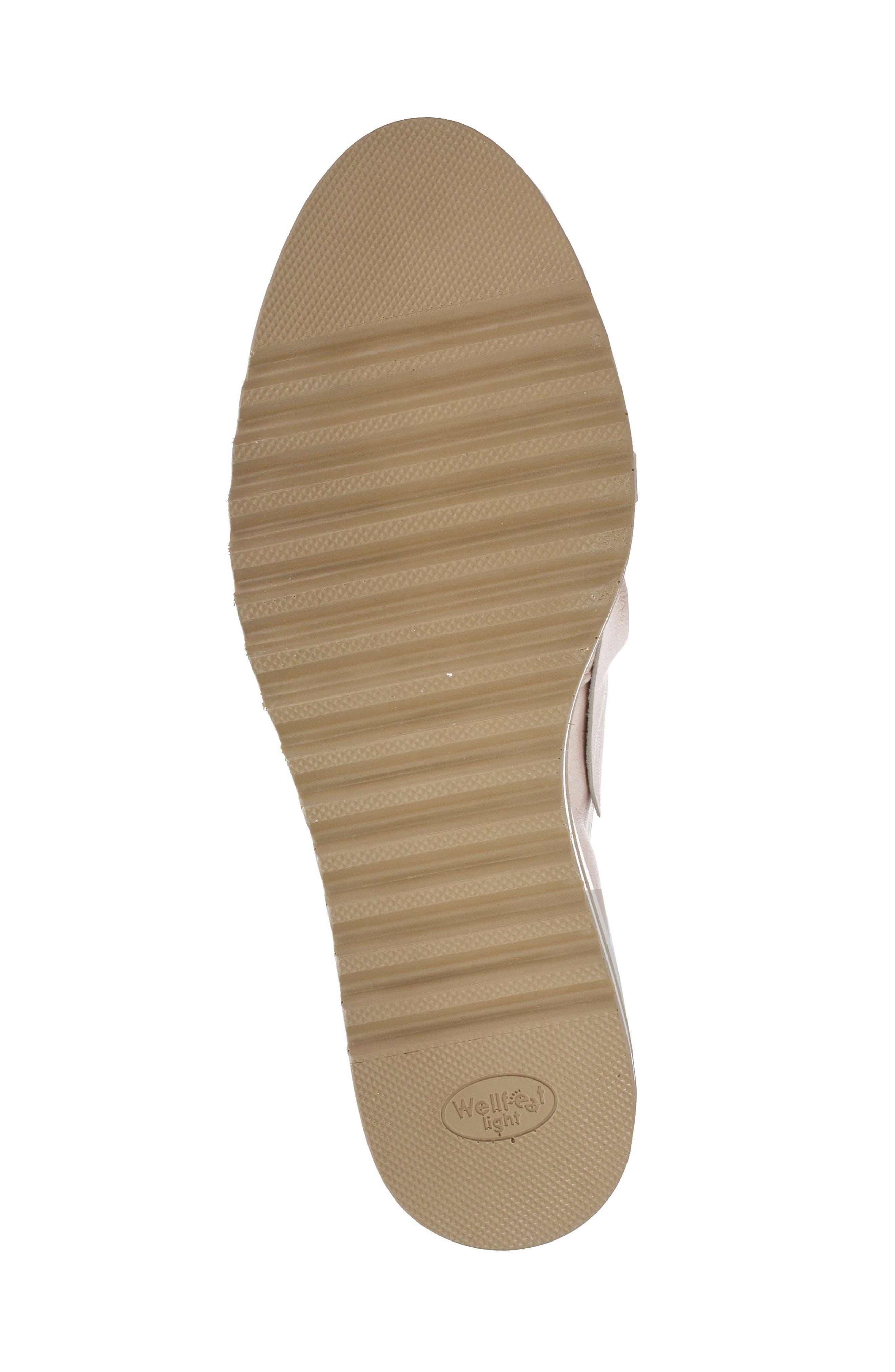 Bella Platform Loafer,                             Alternate thumbnail 6, color,                             Pink Leather