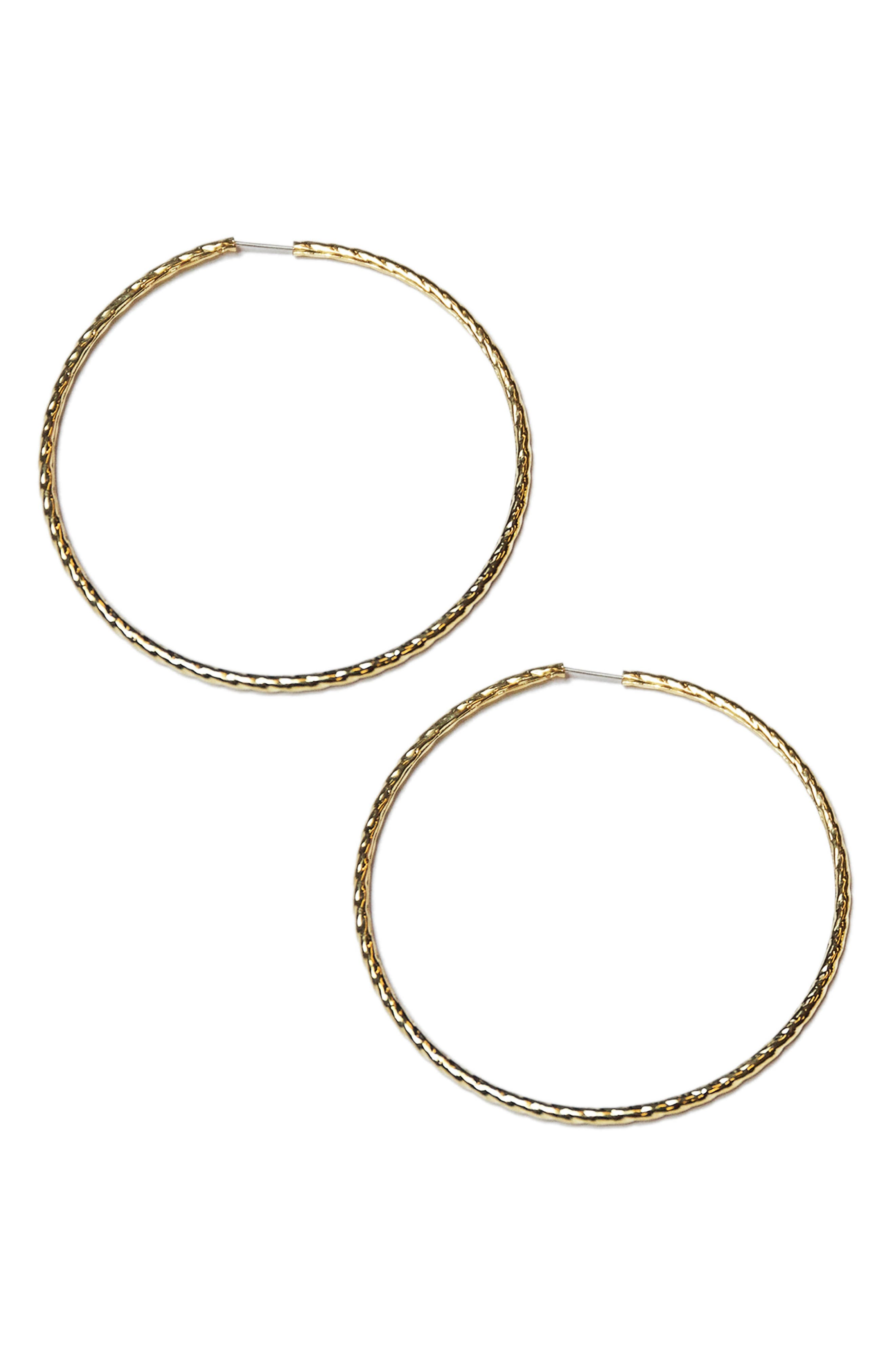 Electra Hoops,                         Main,                         color, Gold